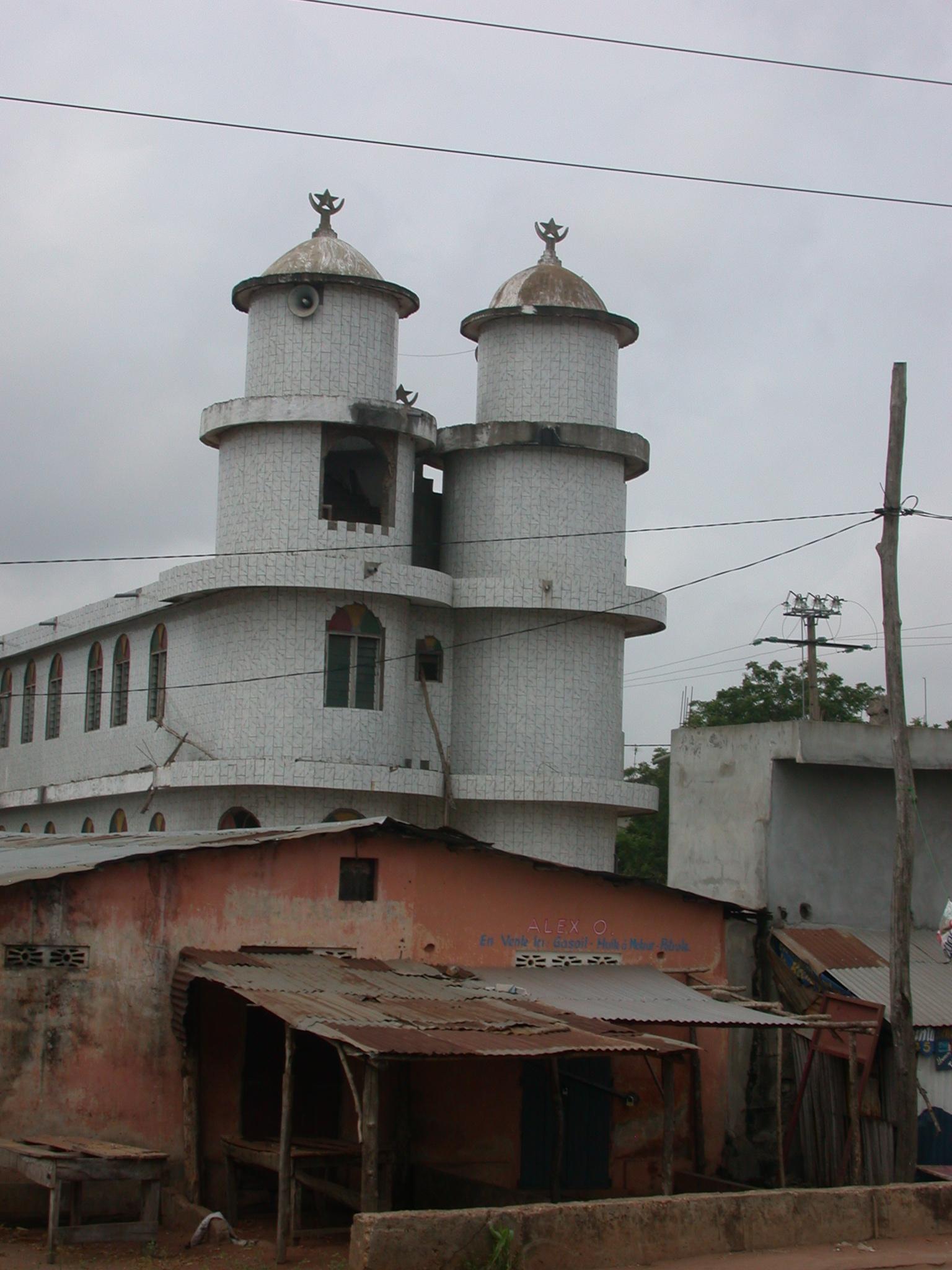 Mosque, Porto Novo, Benin