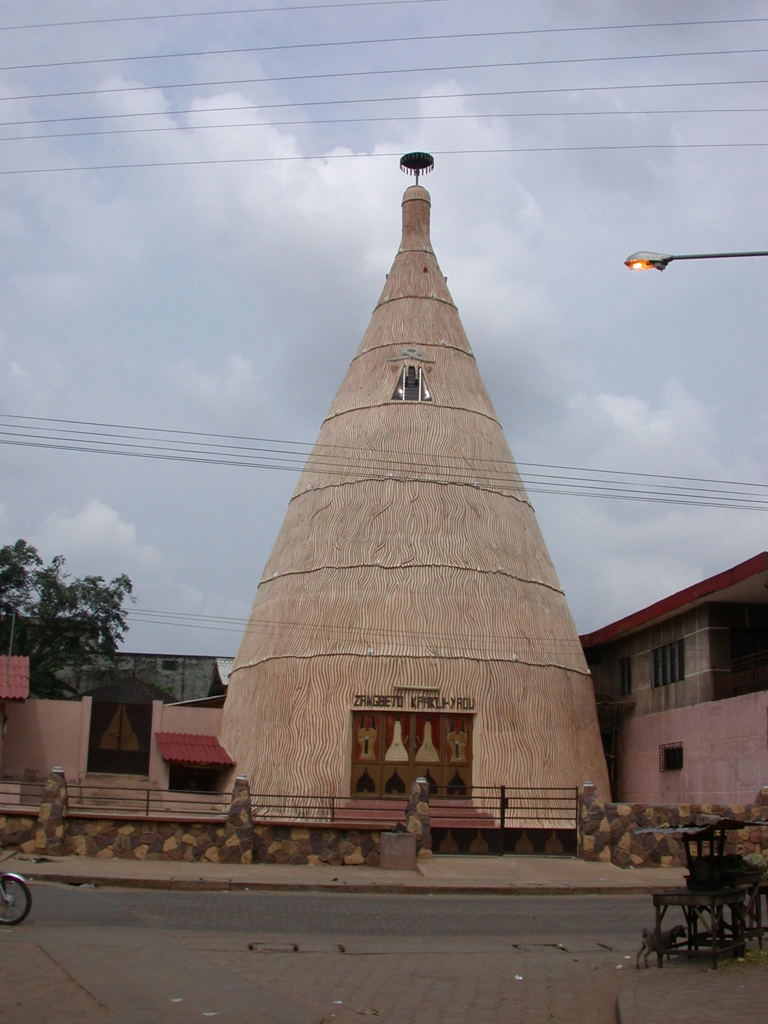 Zangbeto Kphkli-Yaou Temple, Porto Novo, Benin