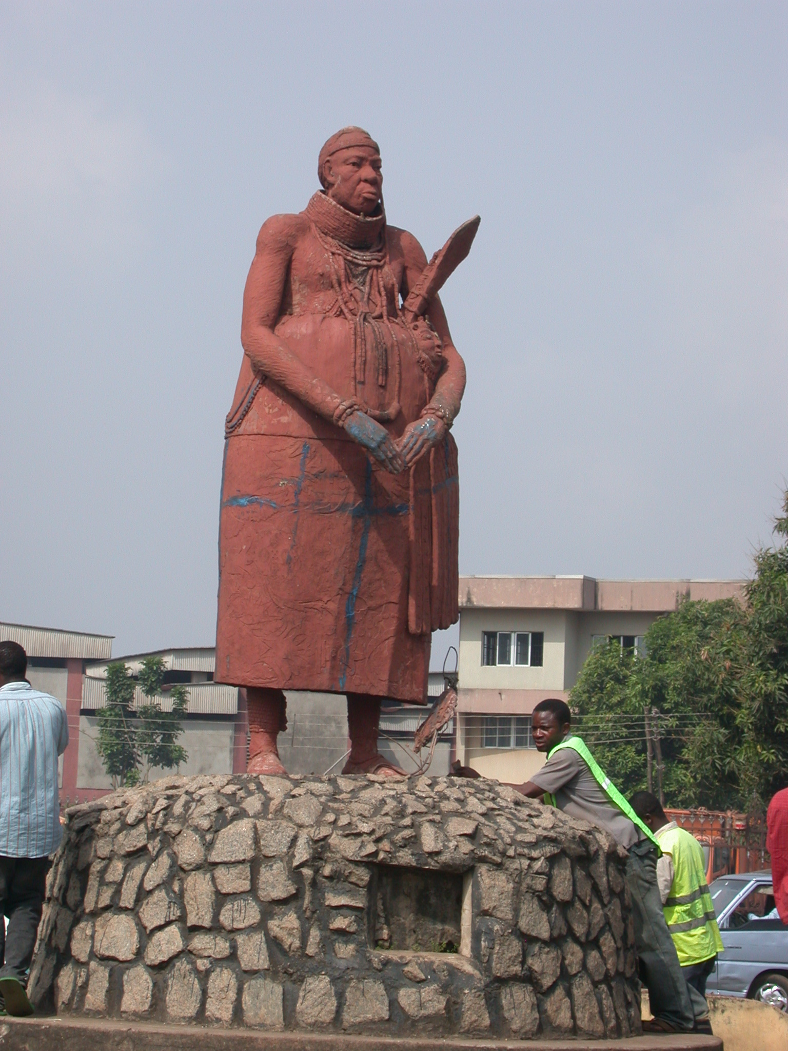Statue on Ring Road, Kings Square, Benin City, Nigeria