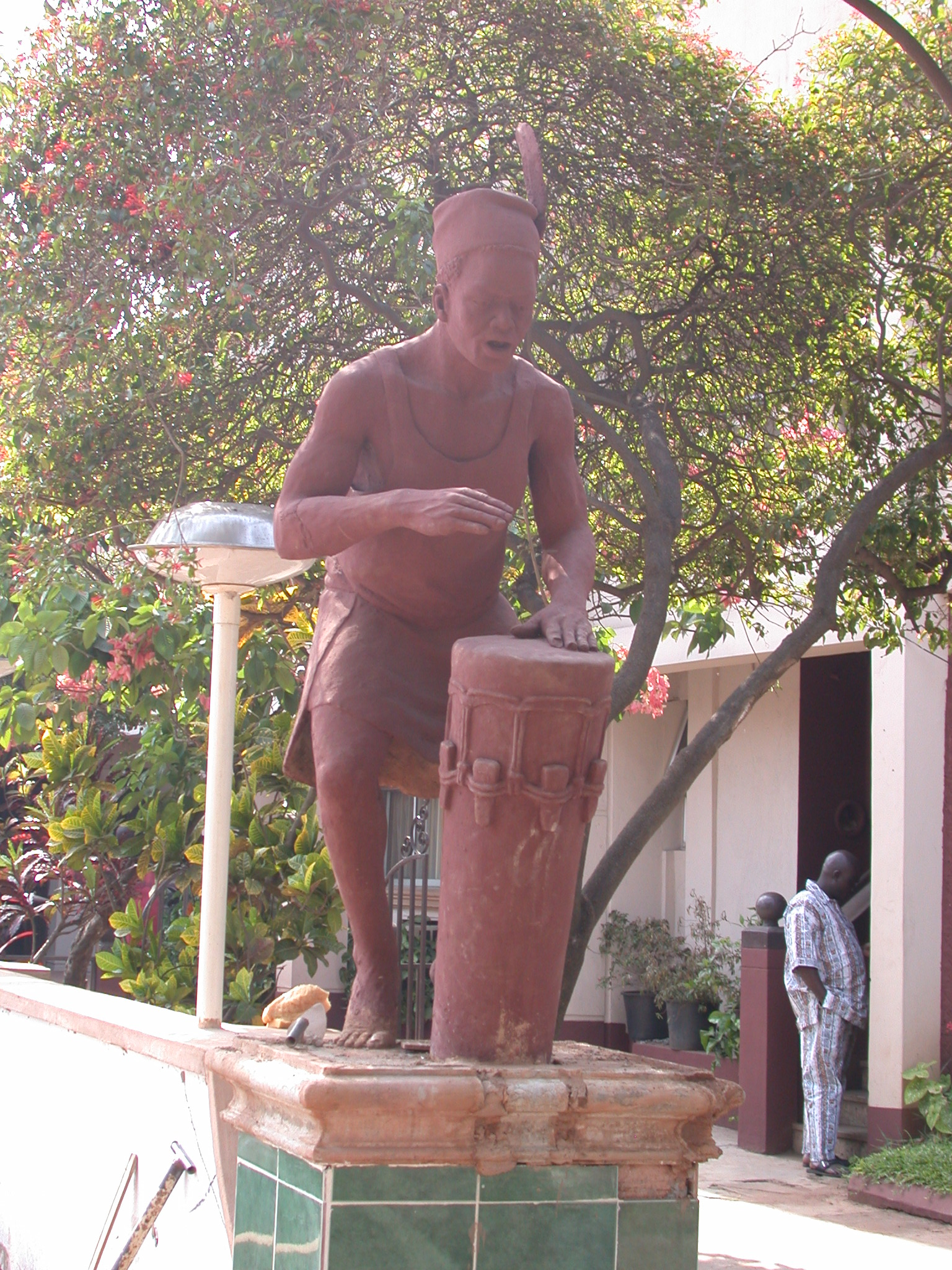 Sculpture in Front of Lixborr Hotel, Benin City, Nigeria
