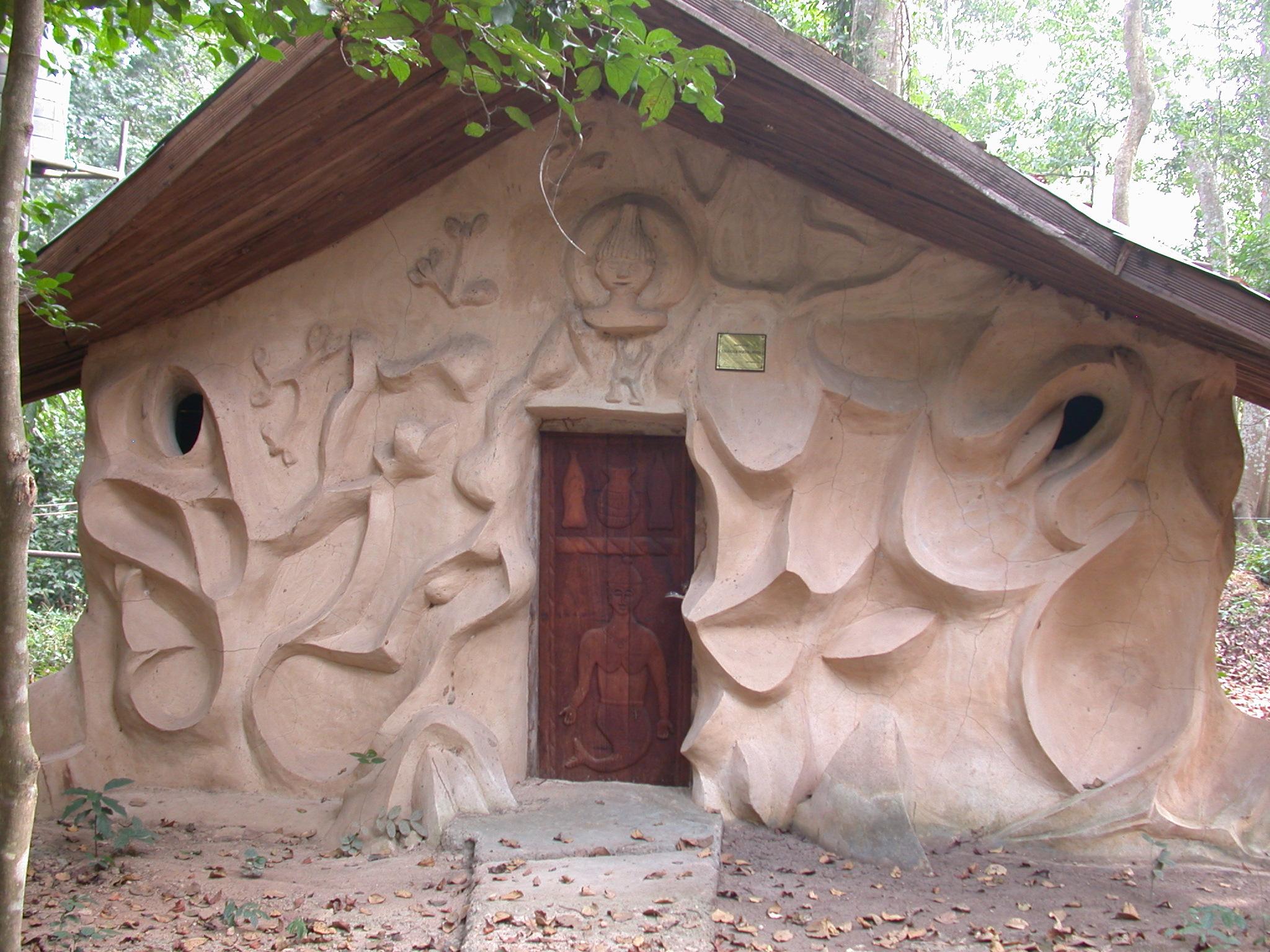 Meeting Building, Osun Sacred Grove, Oshogbo, Nigeria