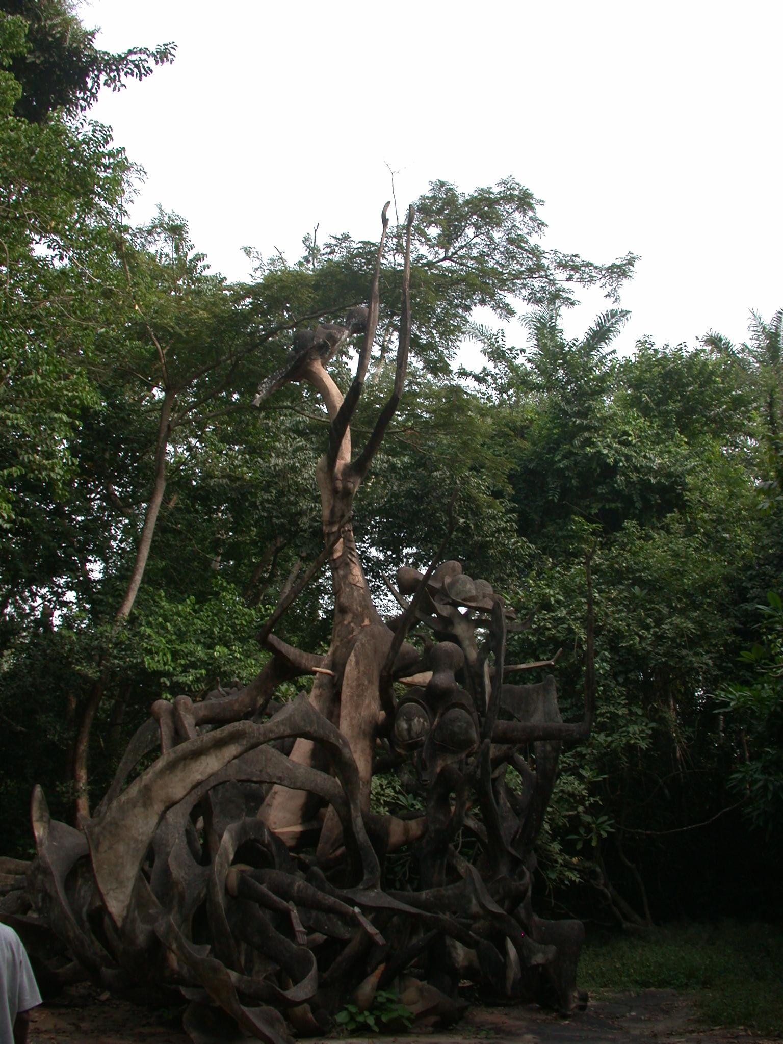Sculpture, Osun Sacred Grove, Oshogbo, Nigeria
