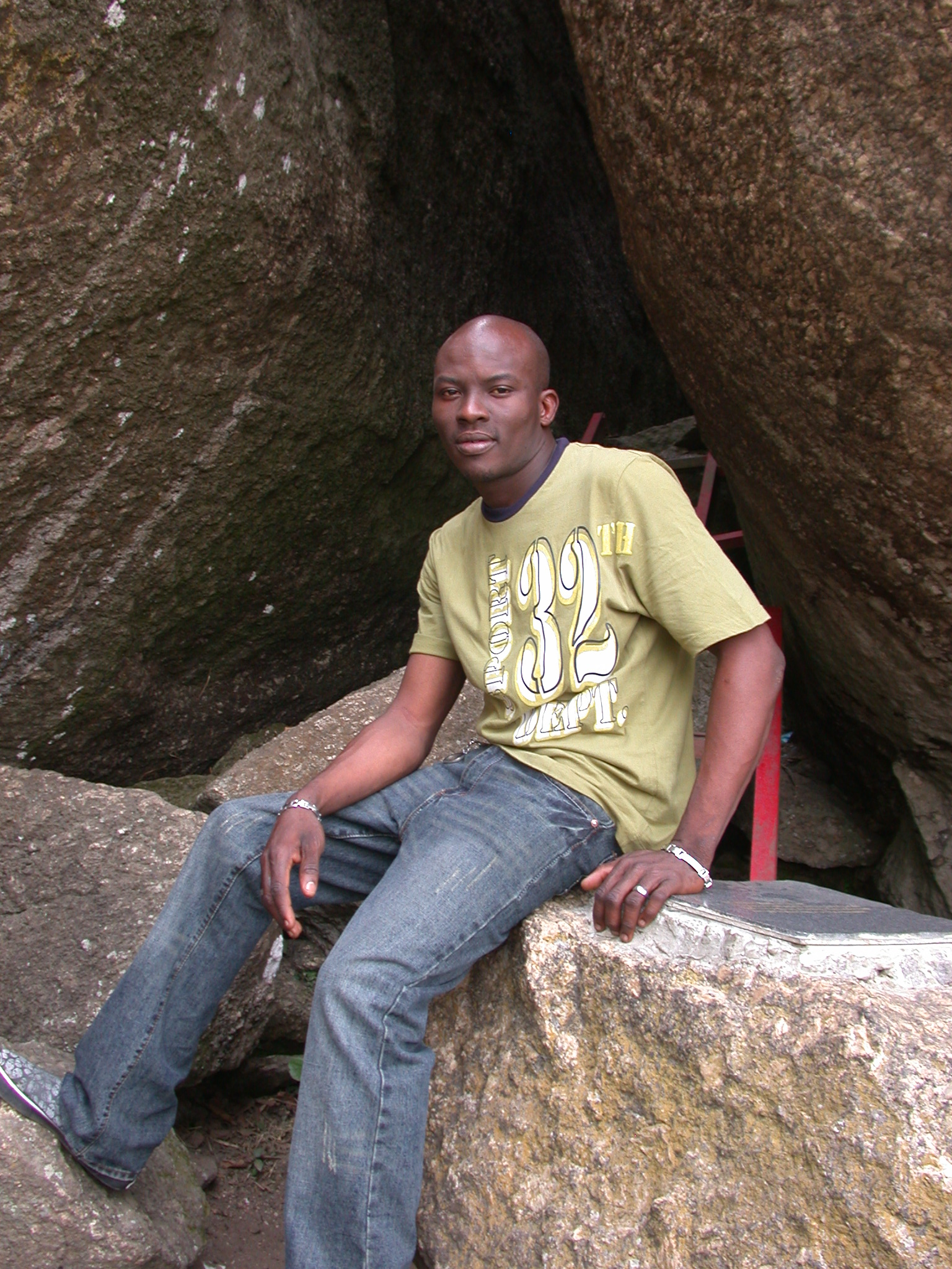 Guide and Manager From Hotel in Town, Olumo Rock, Abeokuta, Nigeria