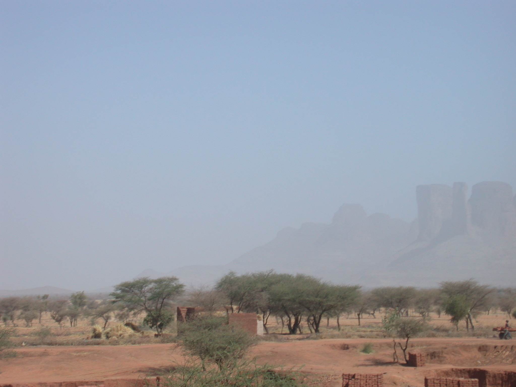 Mountains on Route From Bamako to Timbuktu, Mali