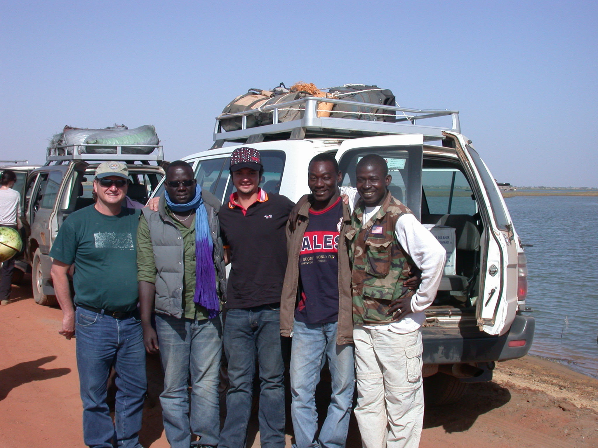 The Crew on the Way to Timbuktu, Mali