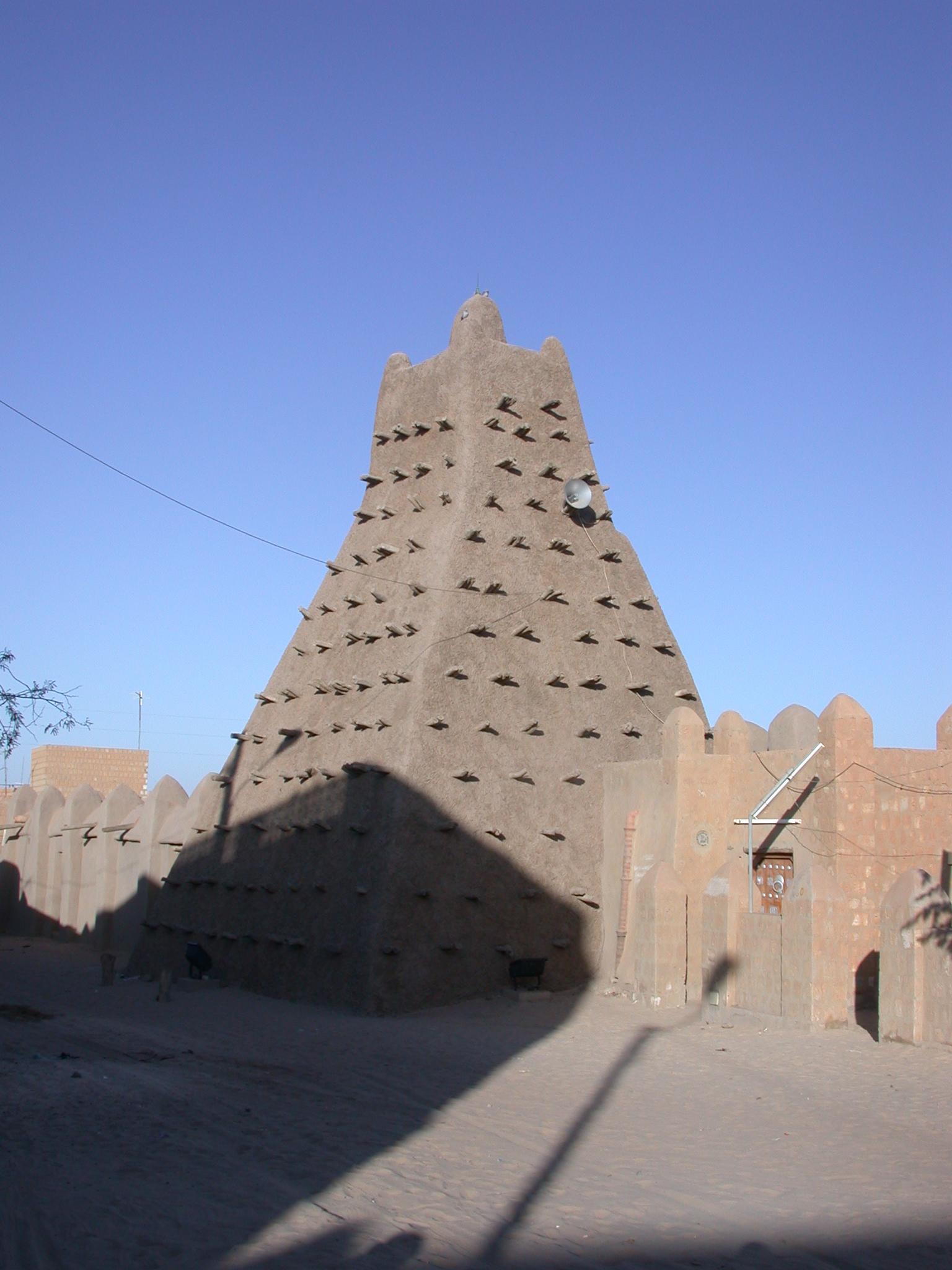 Sankore Mosque, Timbuktu, Mali