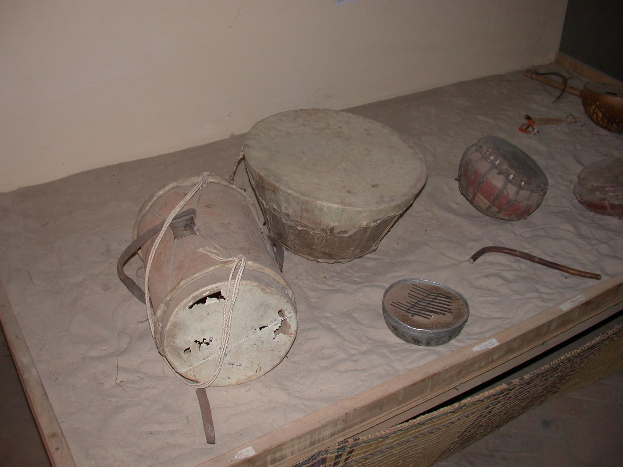 Musical Instruments, Timbuktu Ethnological Museum, Timbuktu, Mali
