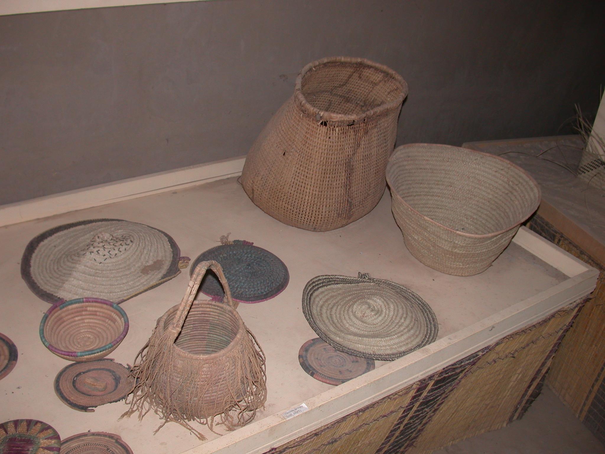 Basketweaving, Timbuktu Ethnological Museum, Timbuktu, Mali