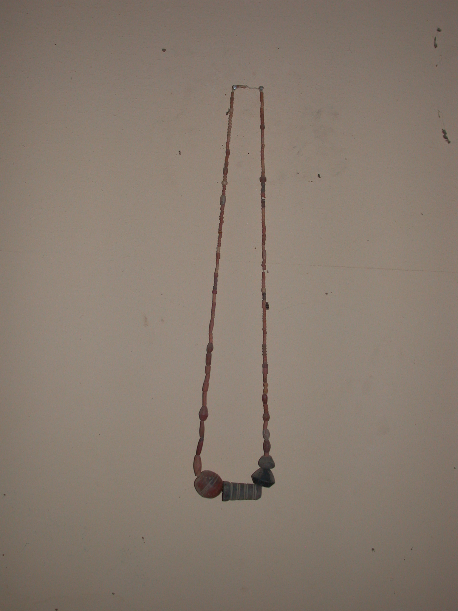 Beaded Necklace, Timbuktu Ethnological Museum, Timbuktu, Mali