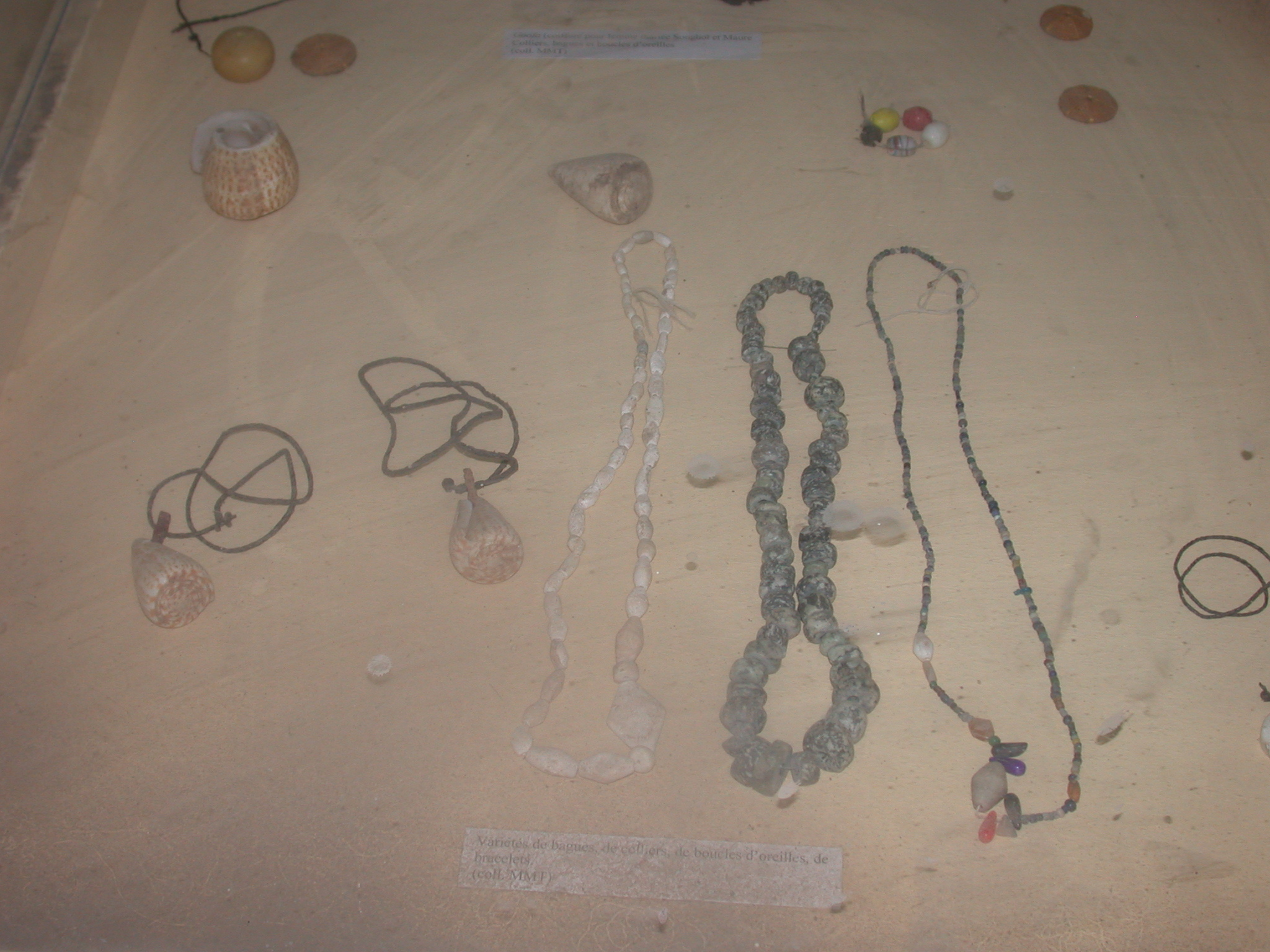 Variety of Rings, Necklaces, Earrings, and Bracelets, Timbuktu Ethnological Museum, Timbuktu, Mali