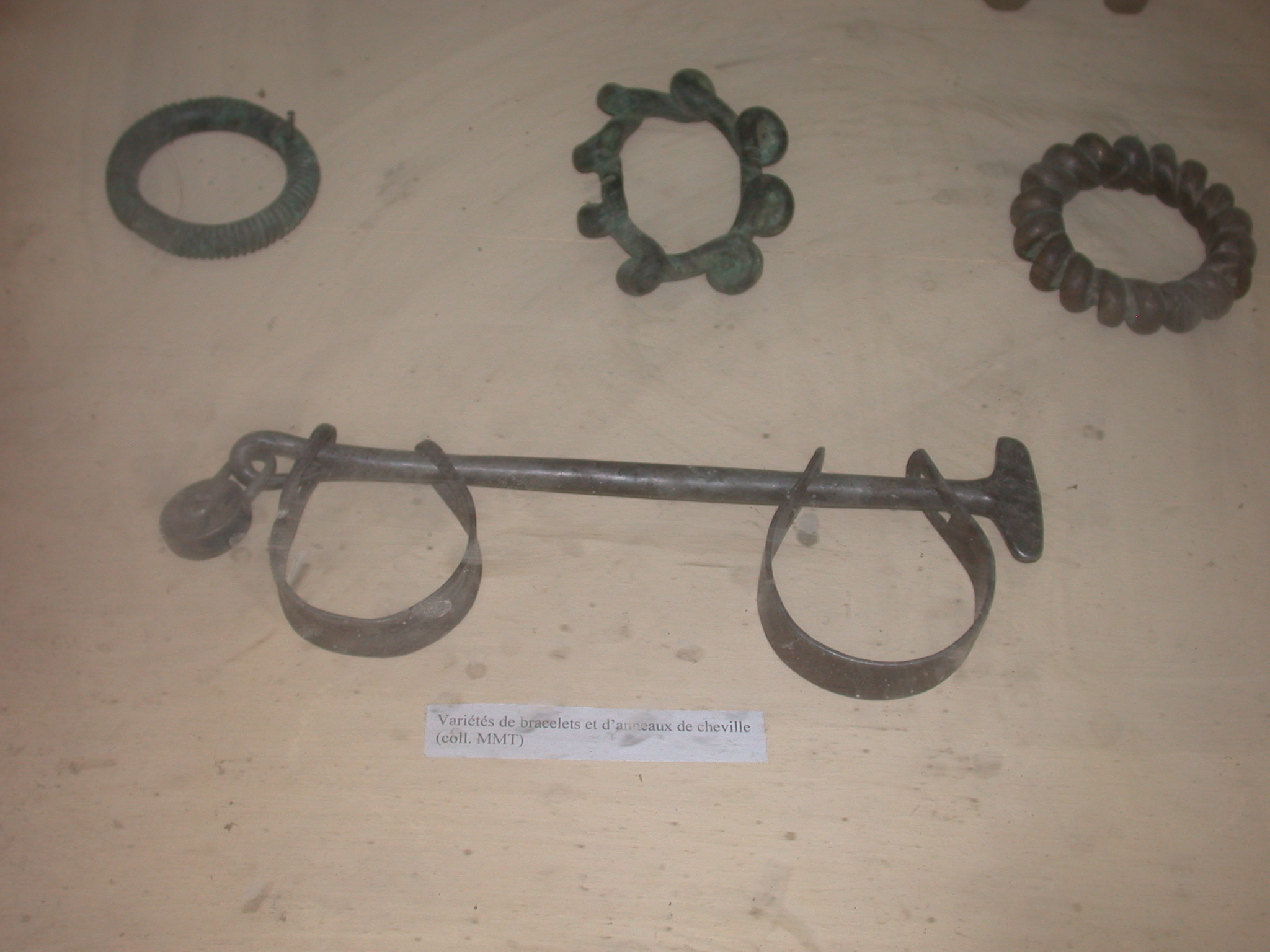 Bracelets and Ankle Rings Including Possibly for Slave Shackles, Timbuktu Ethnological Museum, Timbuktu, Mali