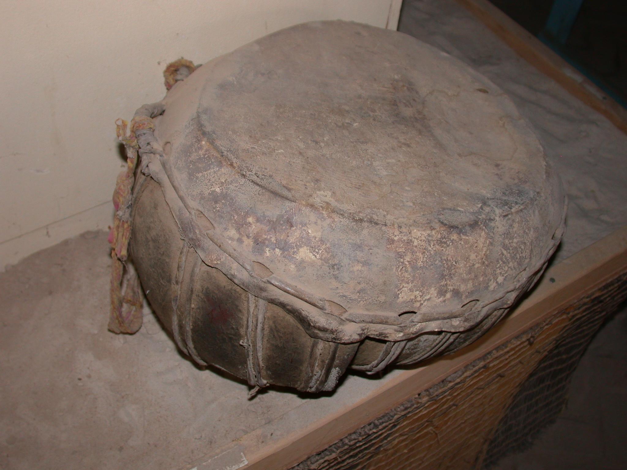 Tubal Drum, Timbuktu Ethnological Museum, Timbuktu, Mali