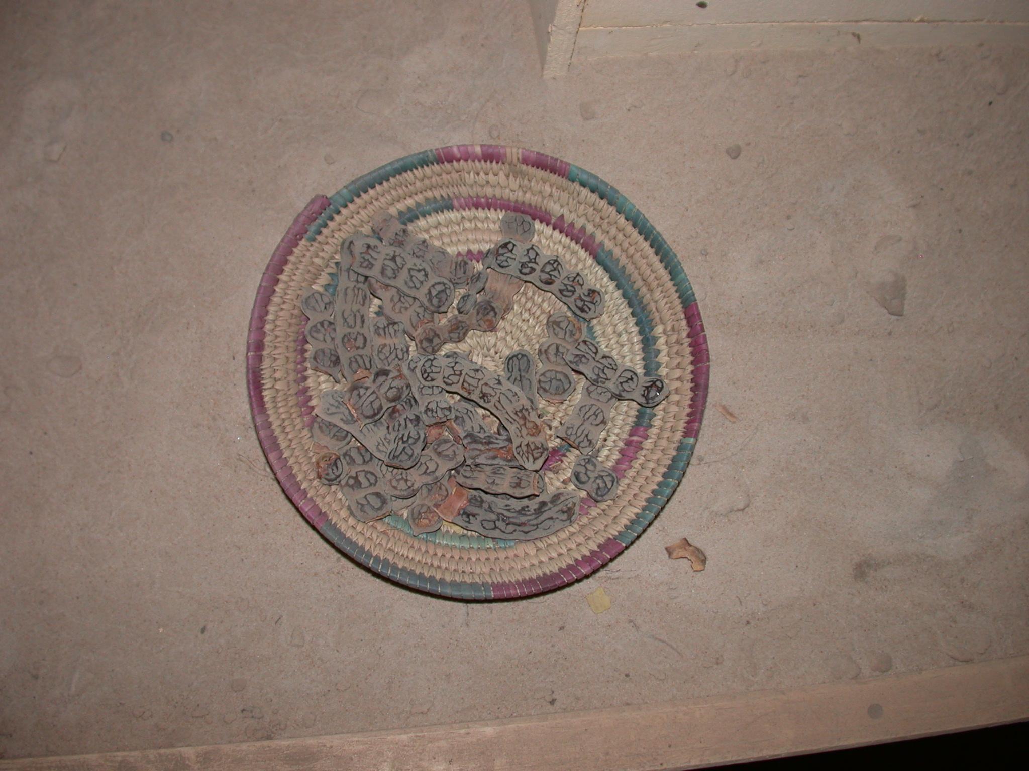 Doum or Fakoye Tanin or Gum Arabic, Timbuktu Ethnological Museum, Timbuktu, Mali