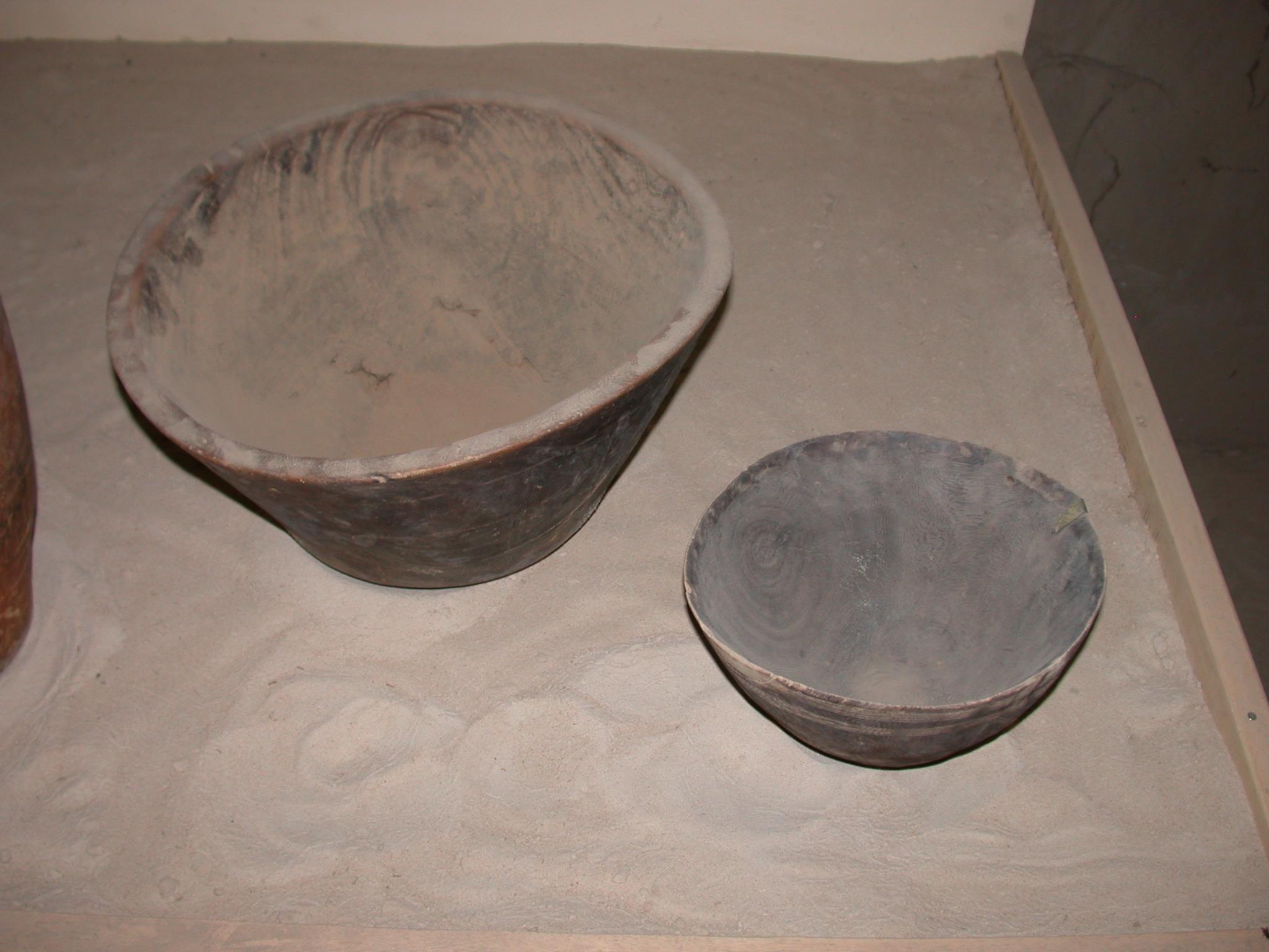 Wooden Bowls, Timbuktu Ethnological Museum, Timbuktu, Mali