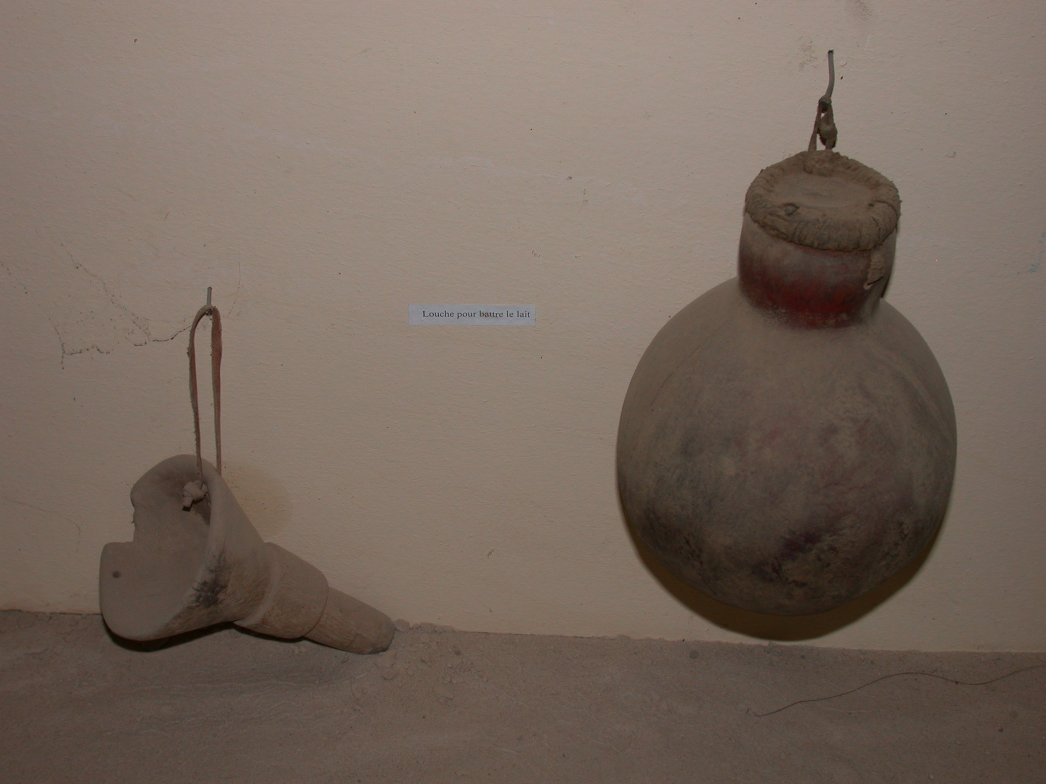 Containers for Milking and Storage of Butter, Funnel, Gourd, Timbuktu Ethnological Museum, Timbuktu, Mali