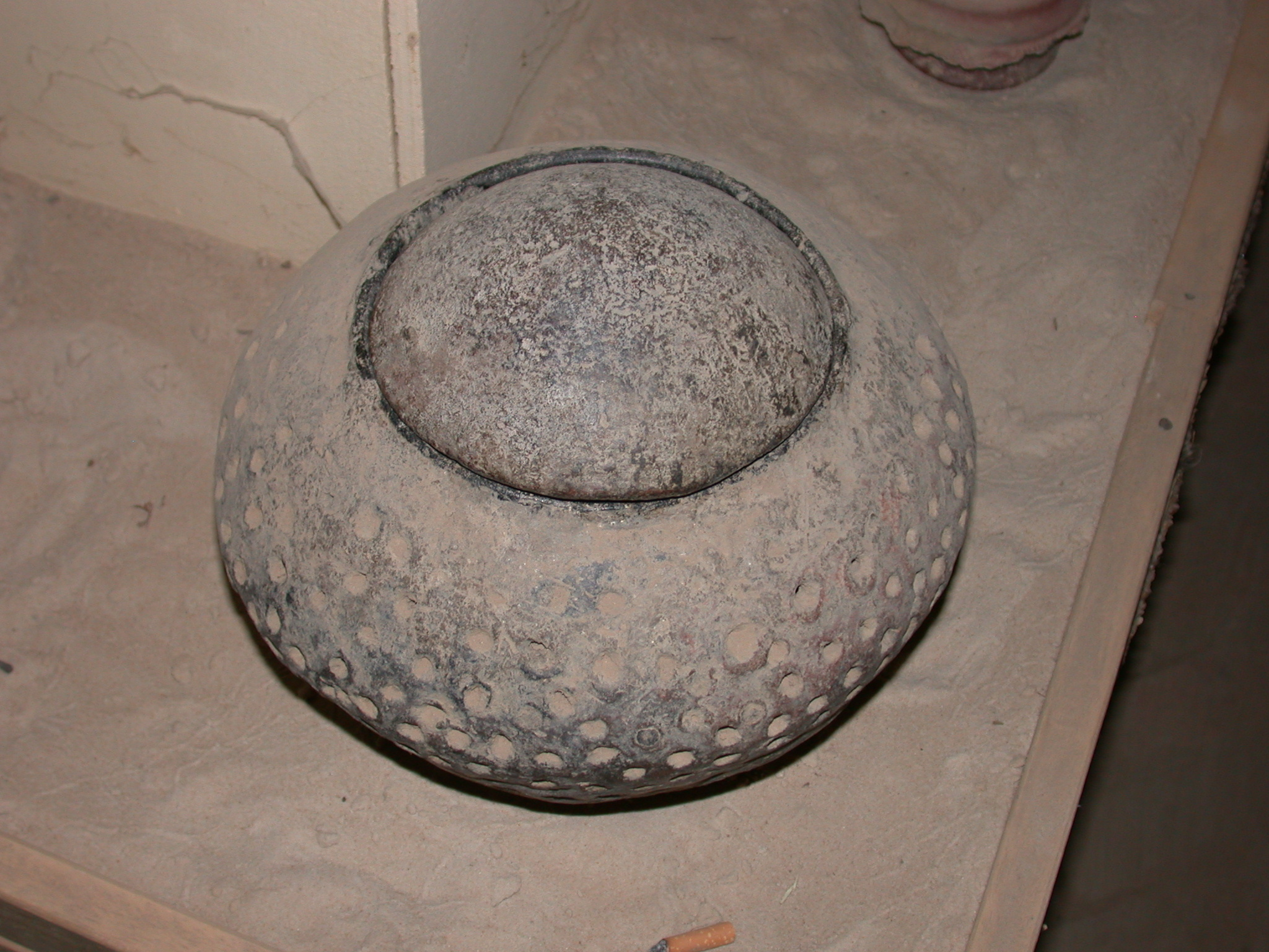 Labeled as Lamp or Incense Burner, Timbuktu Ethnological Museum, Timbuktu, Mali