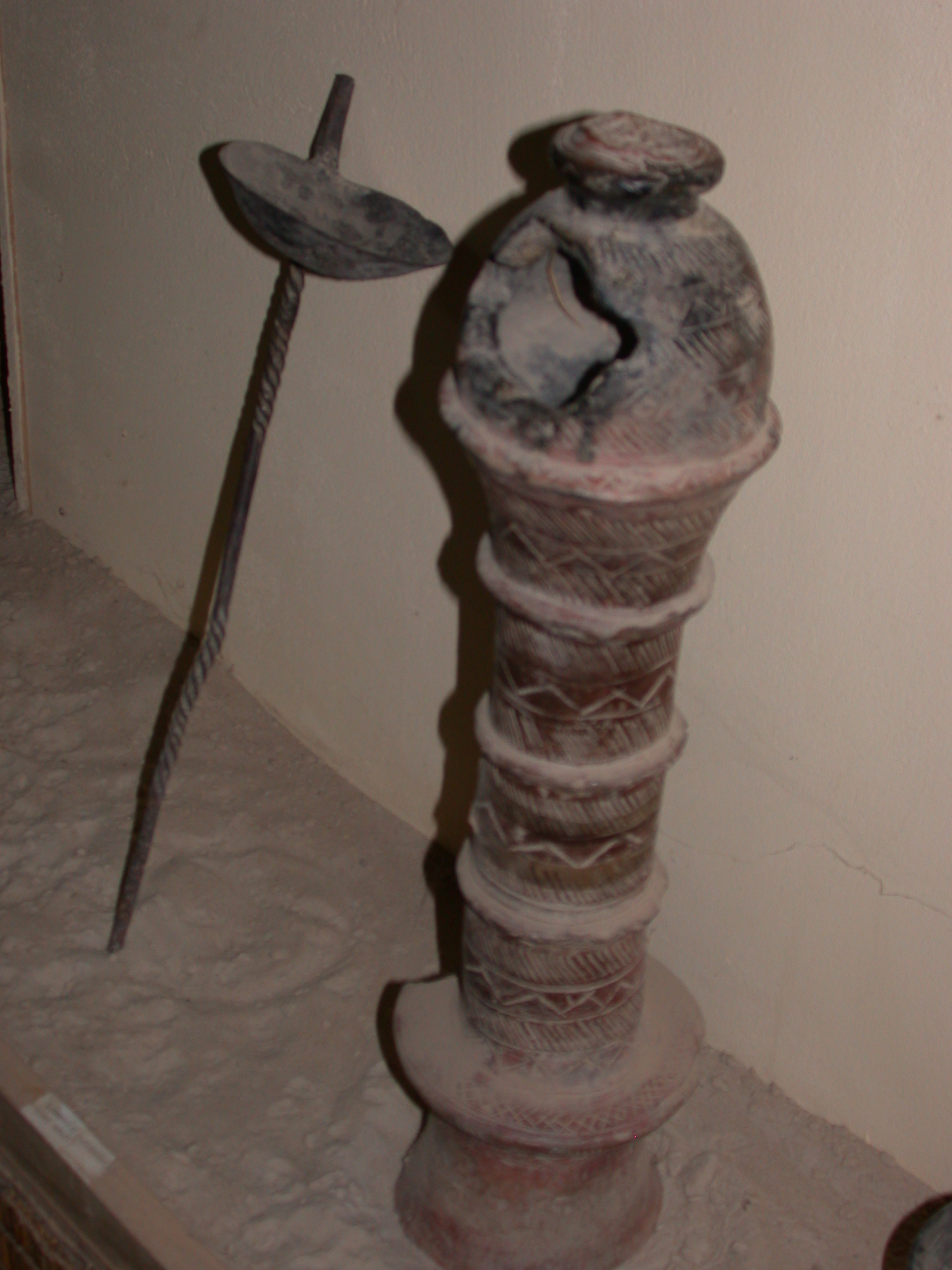 Lamp or Incense Burner, Timbuktu Ethnological Museum, Timbuktu, Mali