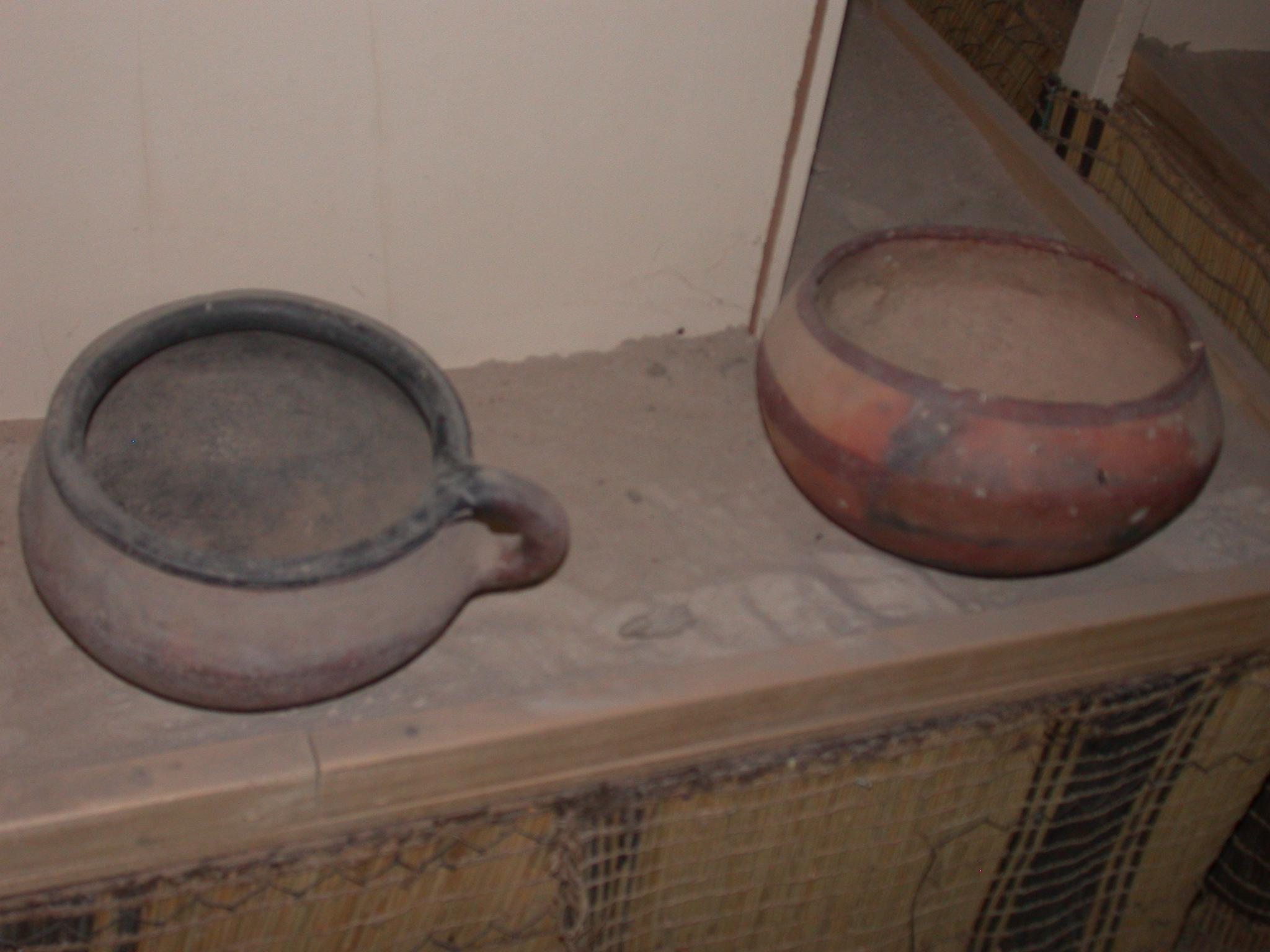 Bowls, Timbuktu Ethnological Museum, Timbuktu, Mali