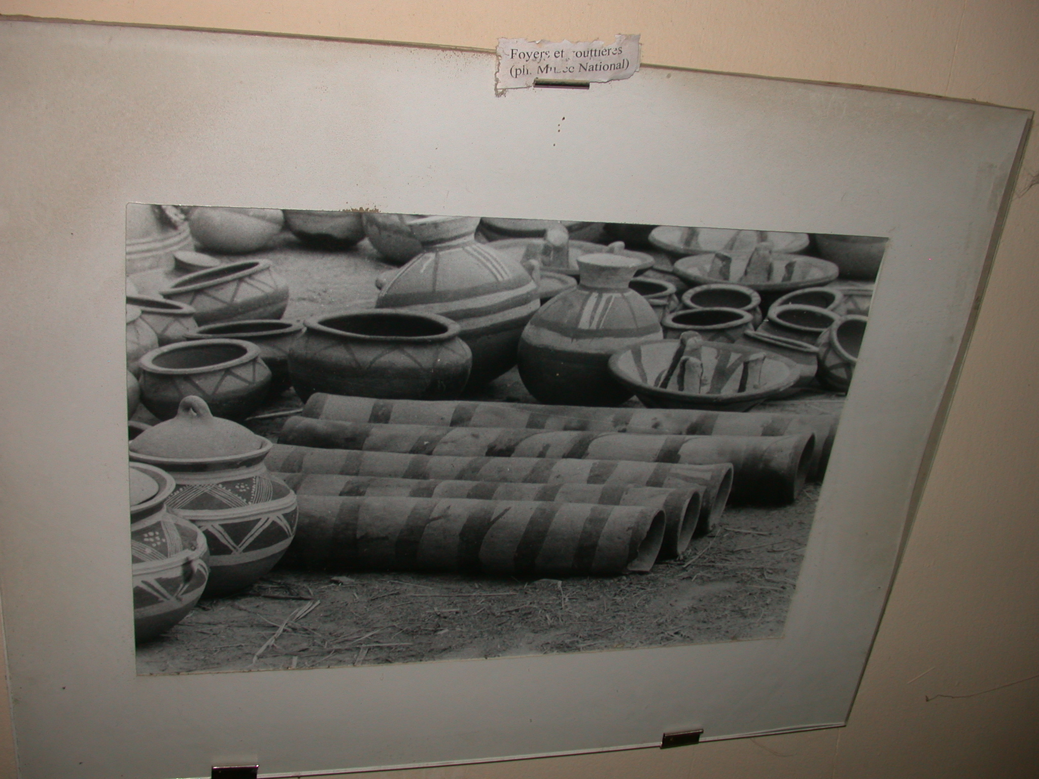 Photo Labeled Hearths and Gutters, Timbuktu Ethnological Museum, Timbuktu, Mali