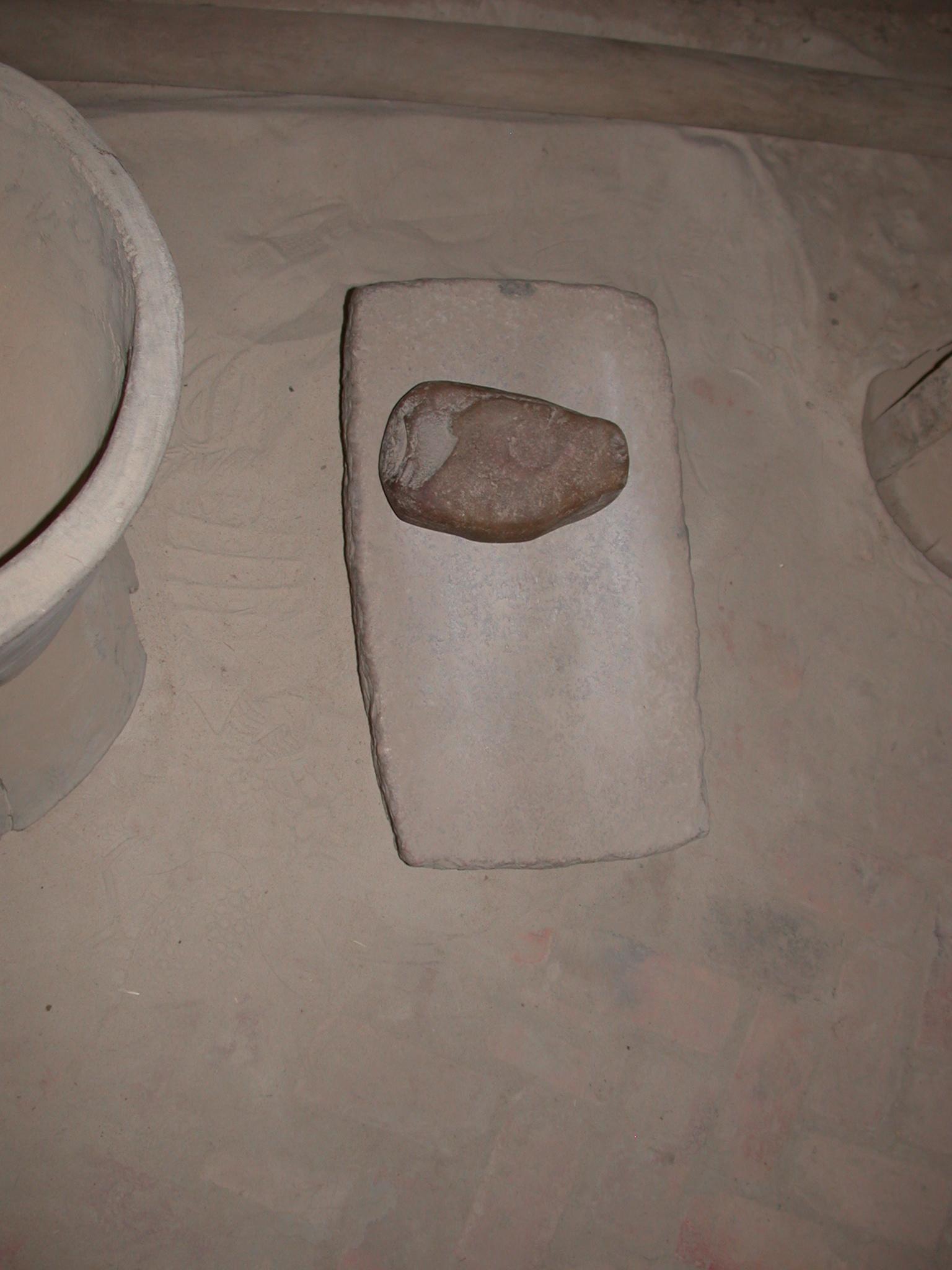 Grinding Stone, Timbuktu Ethnological Museum, Timbuktu, Mali