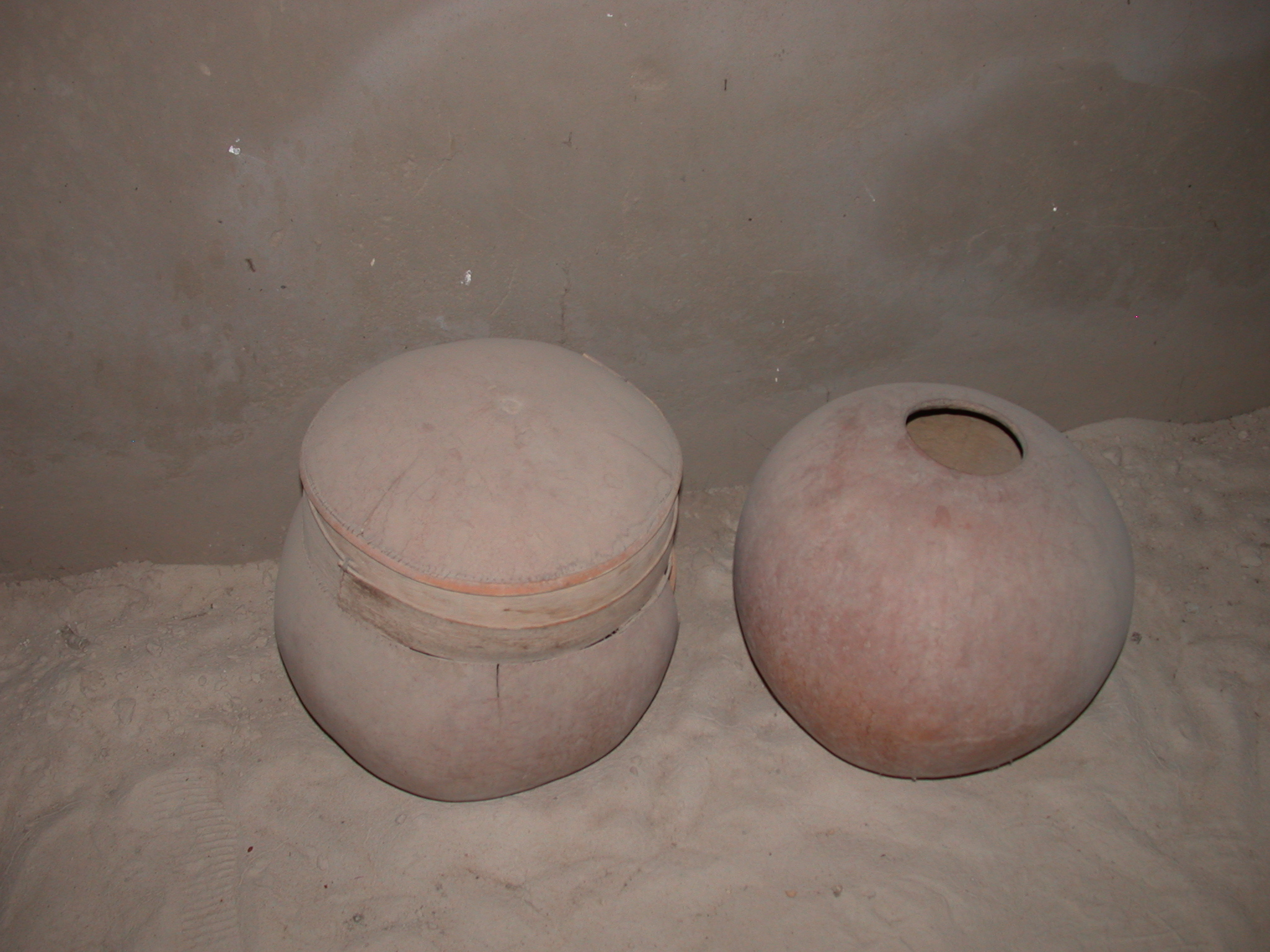 Containers for Storage of Agricultural Products, Timbuktu Ethnological Museum, Timbuktu, Mali