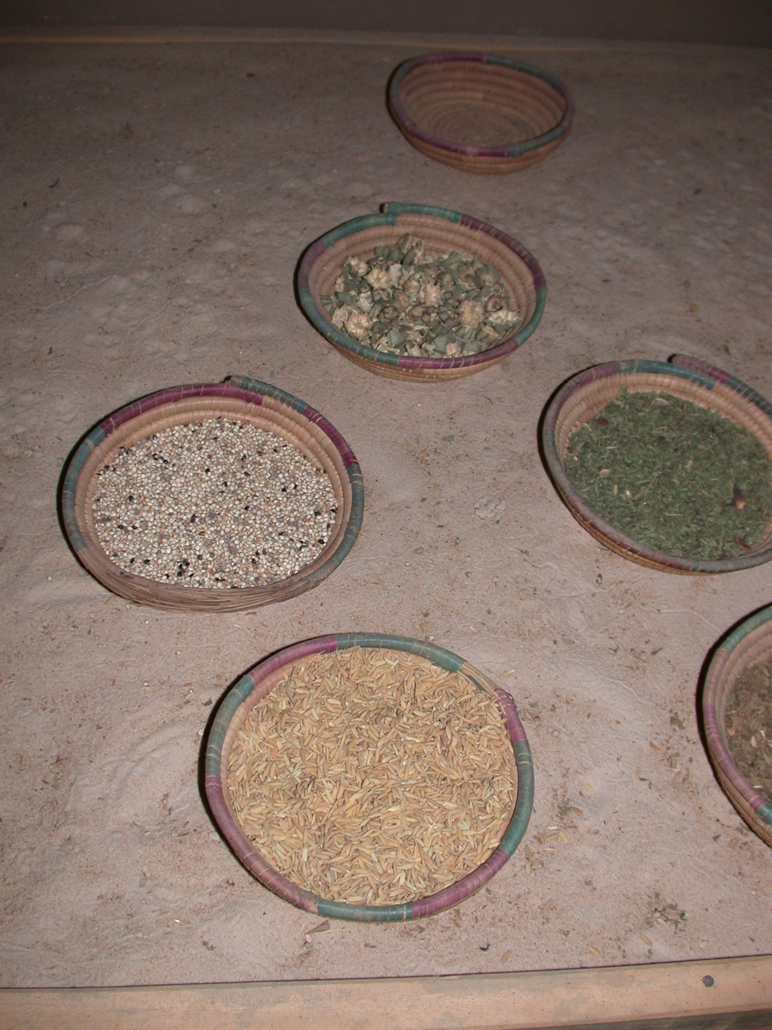 Agricultural Products, Timbuktu Ethnological Museum, Timbuktu, Mali