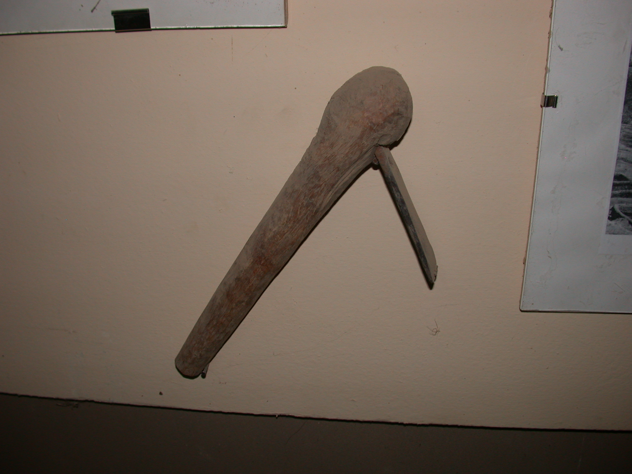 Probably a Hoe, Timbuktu Ethnological Museum, Timbuktu, Mali