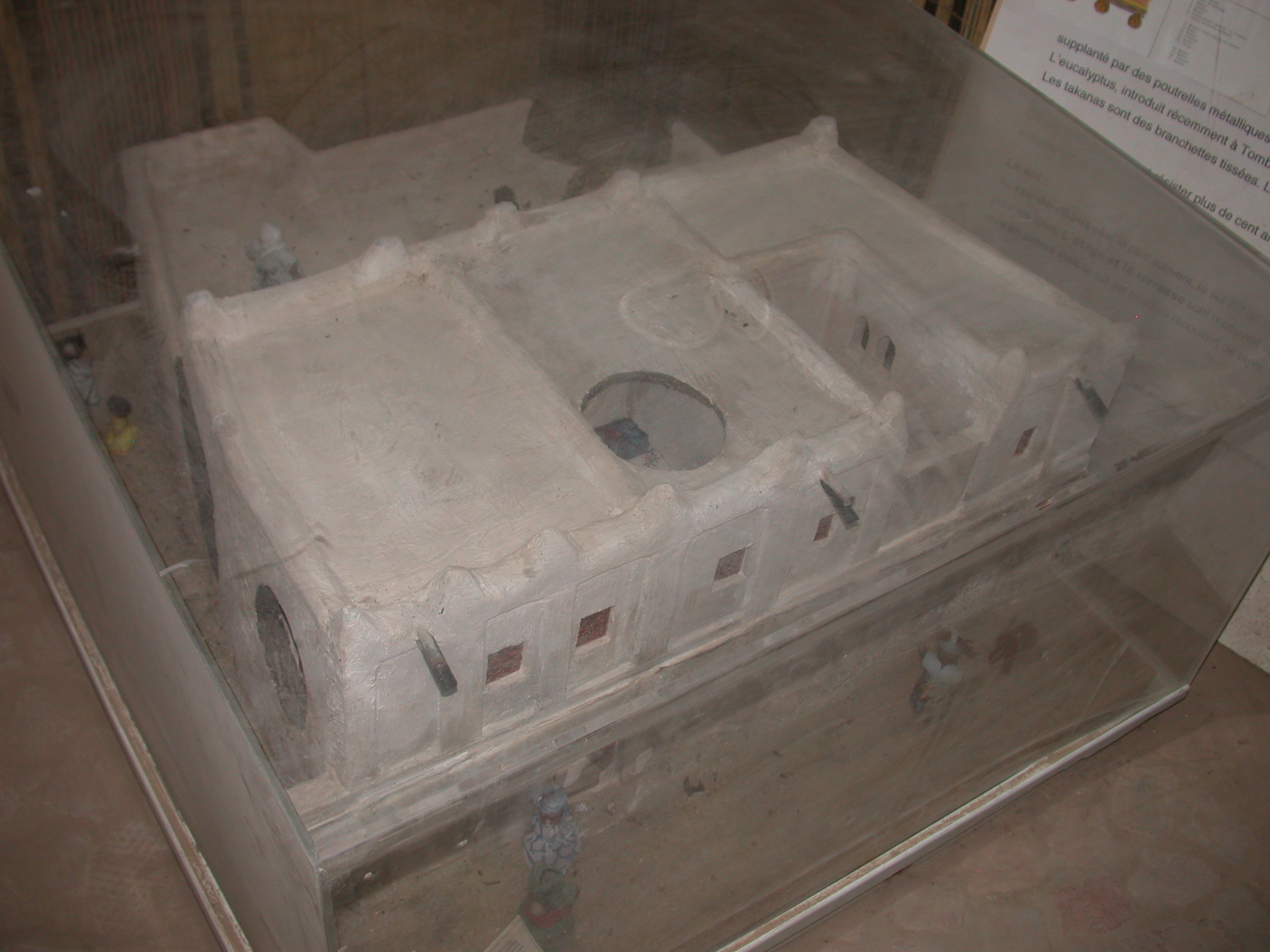 Model of a Timbuktu House, Part I, Timbuktu Ethnological Museum, Timbuktu, Mali