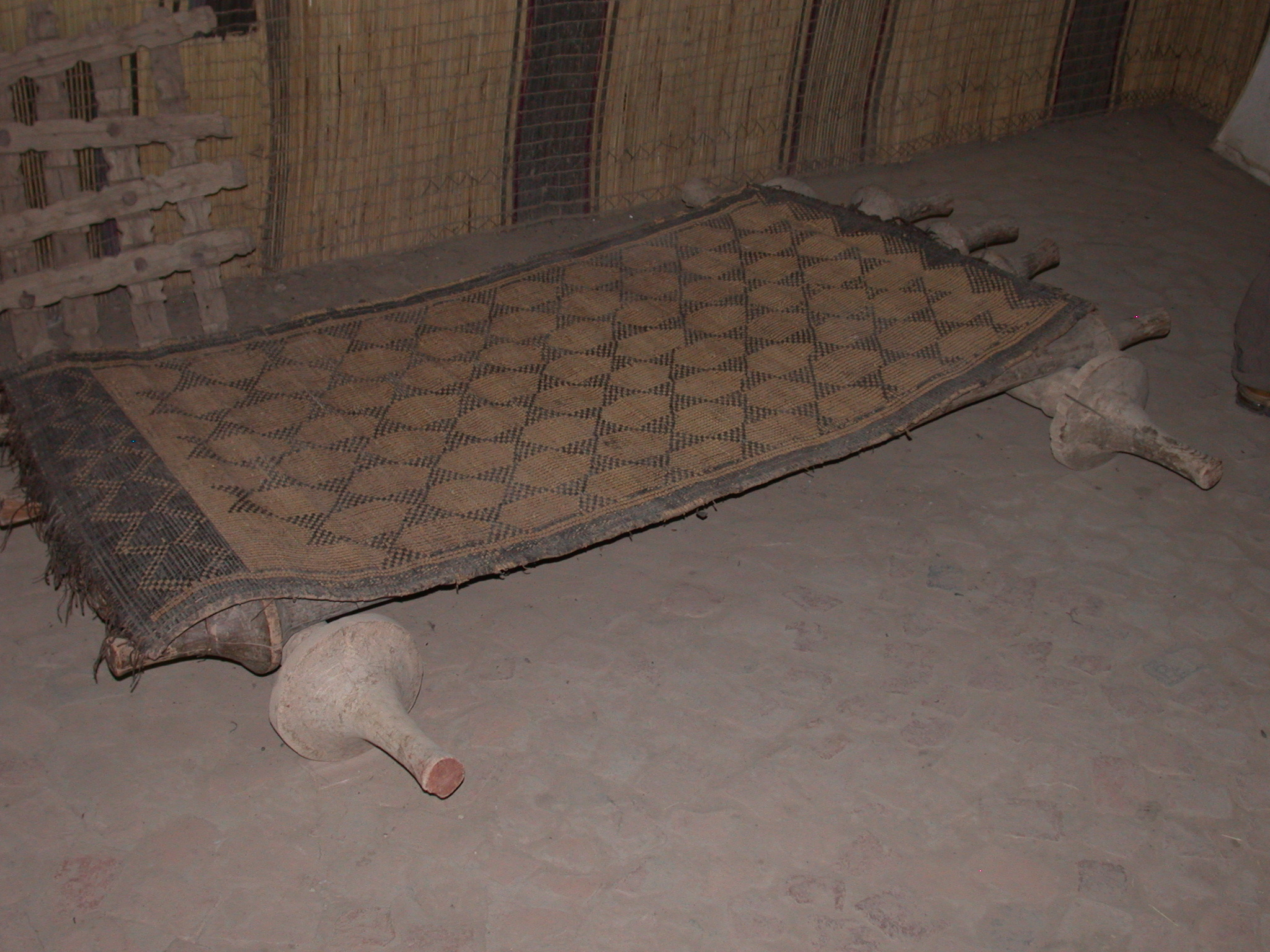 Rockable Bed Mat, Timbuktu Ethnological Museum, Timbuktu, Mali