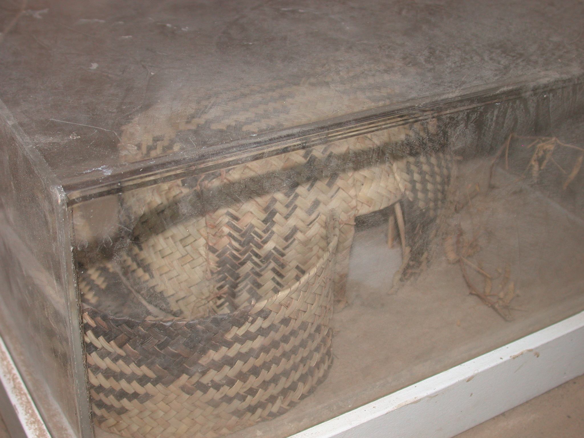 Model of Thatch Hut, Timbuktu Ethnological Museum, Timbuktu, Mali