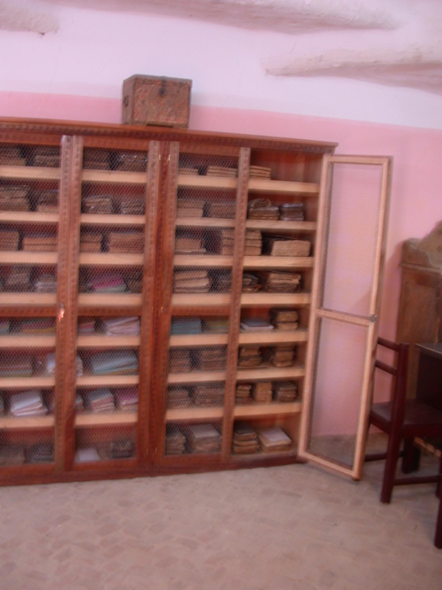 Manuscript Cabinet, Manuscript Library, Timbuktu, Mali