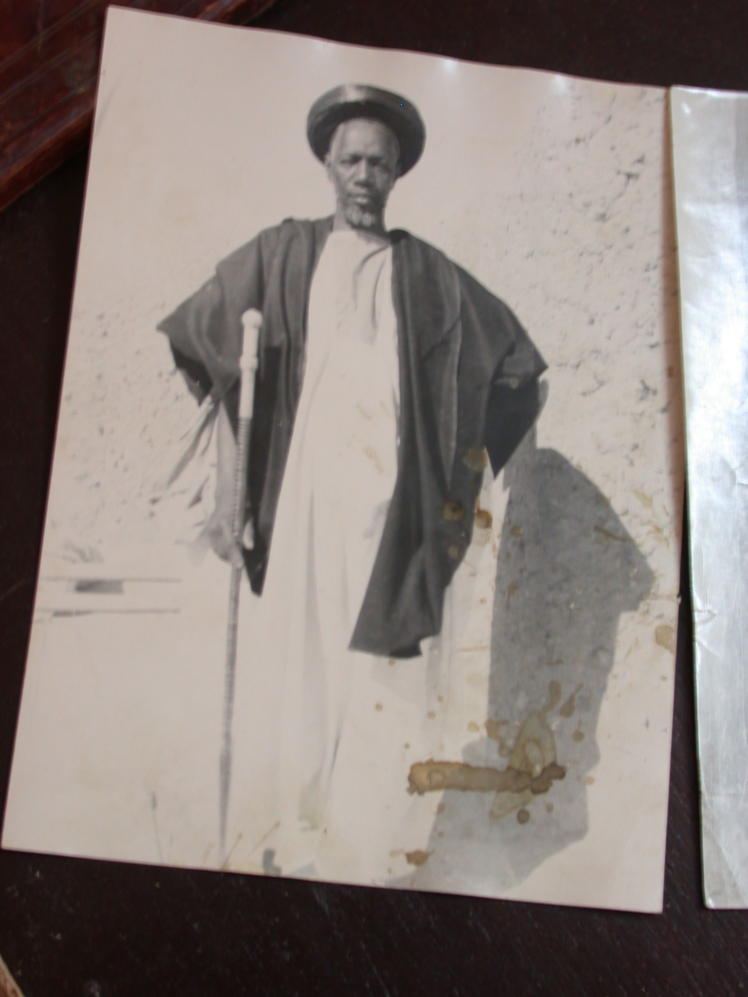 Photo of Man, Manuscript Library, Timbuktu, Mali