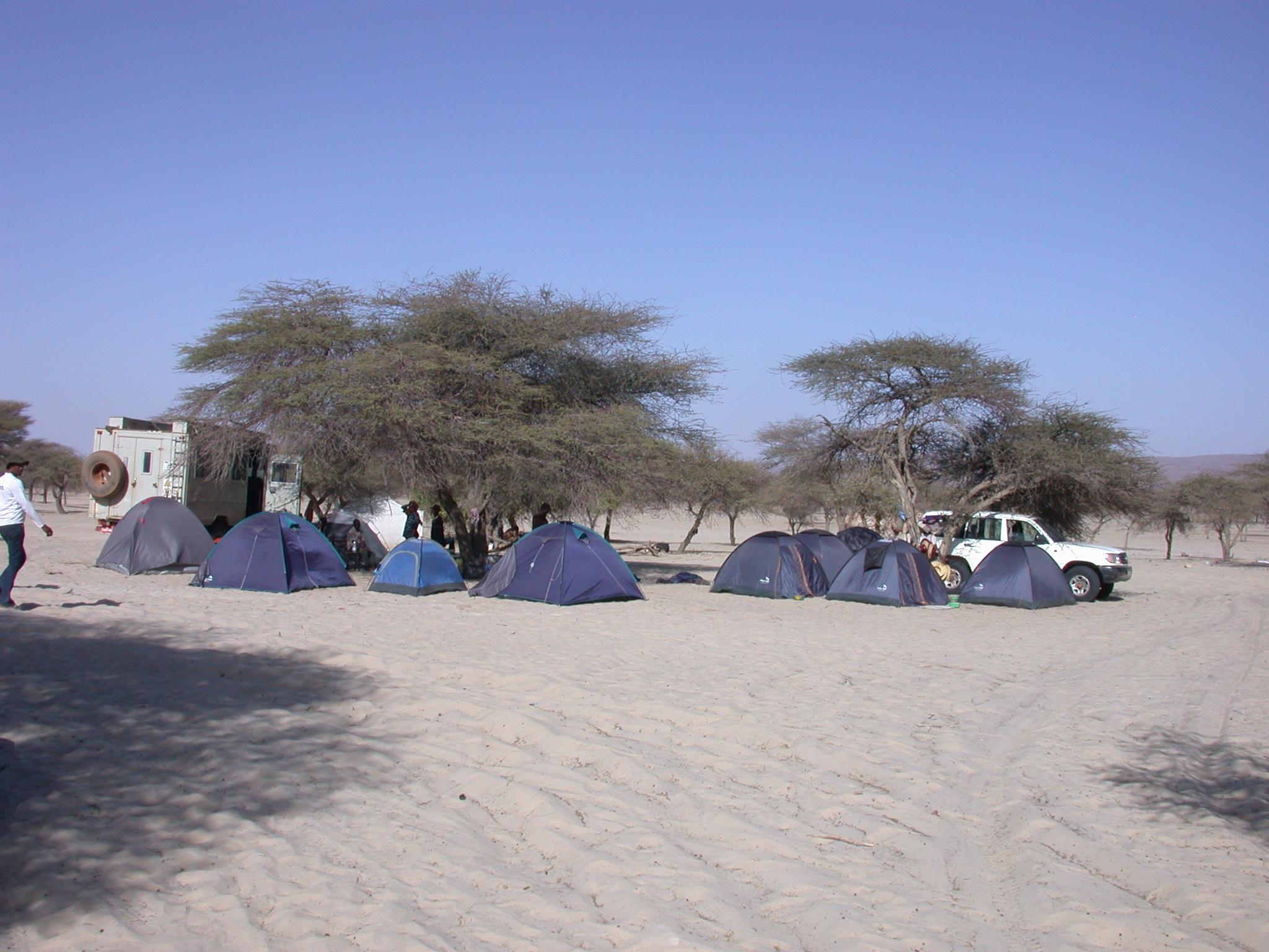Campsite, Festival in the Desert, Essakane, Mali