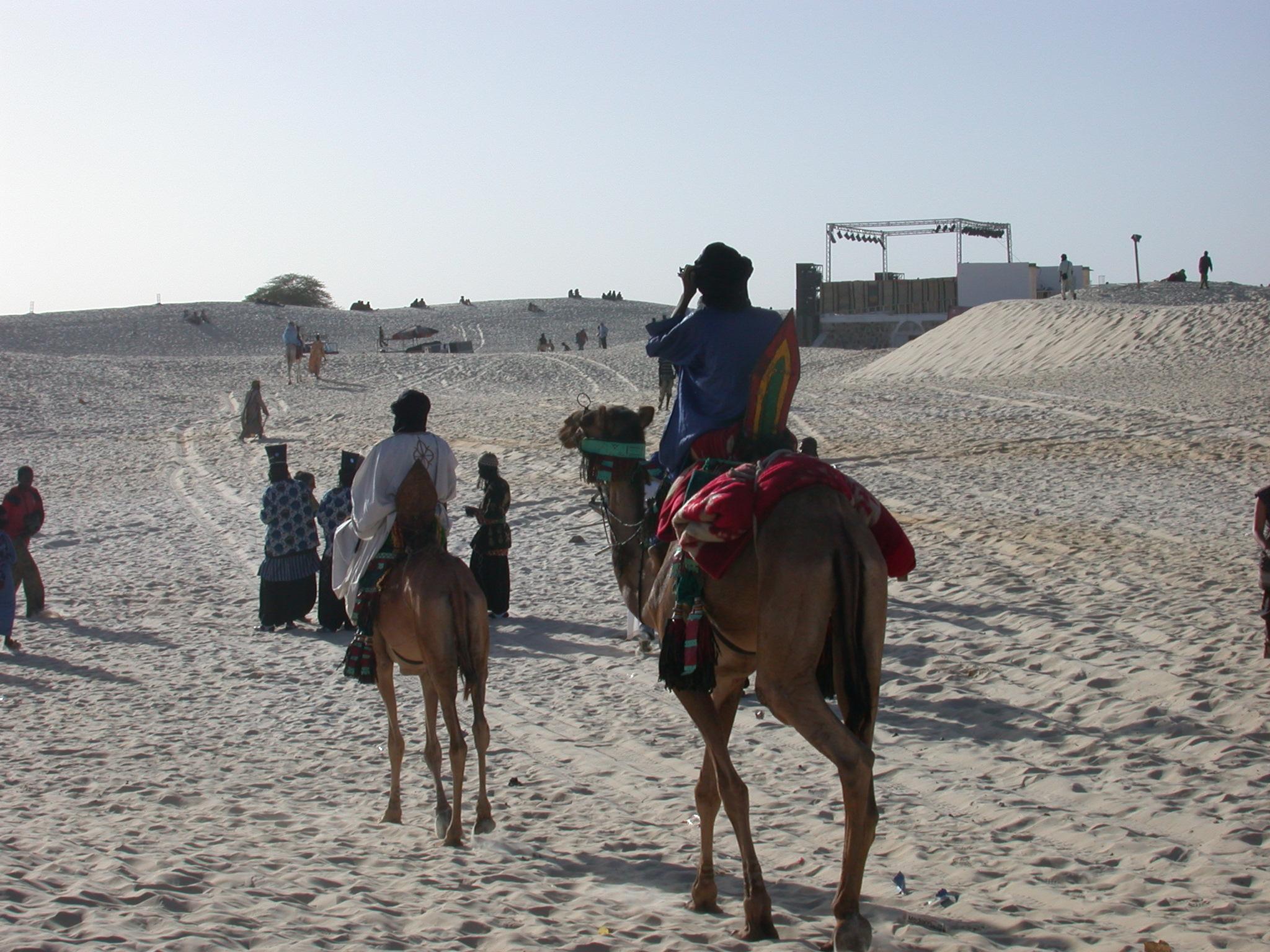 Tuareg Camel Riders, Festival in the Desert, Essakane, Mali