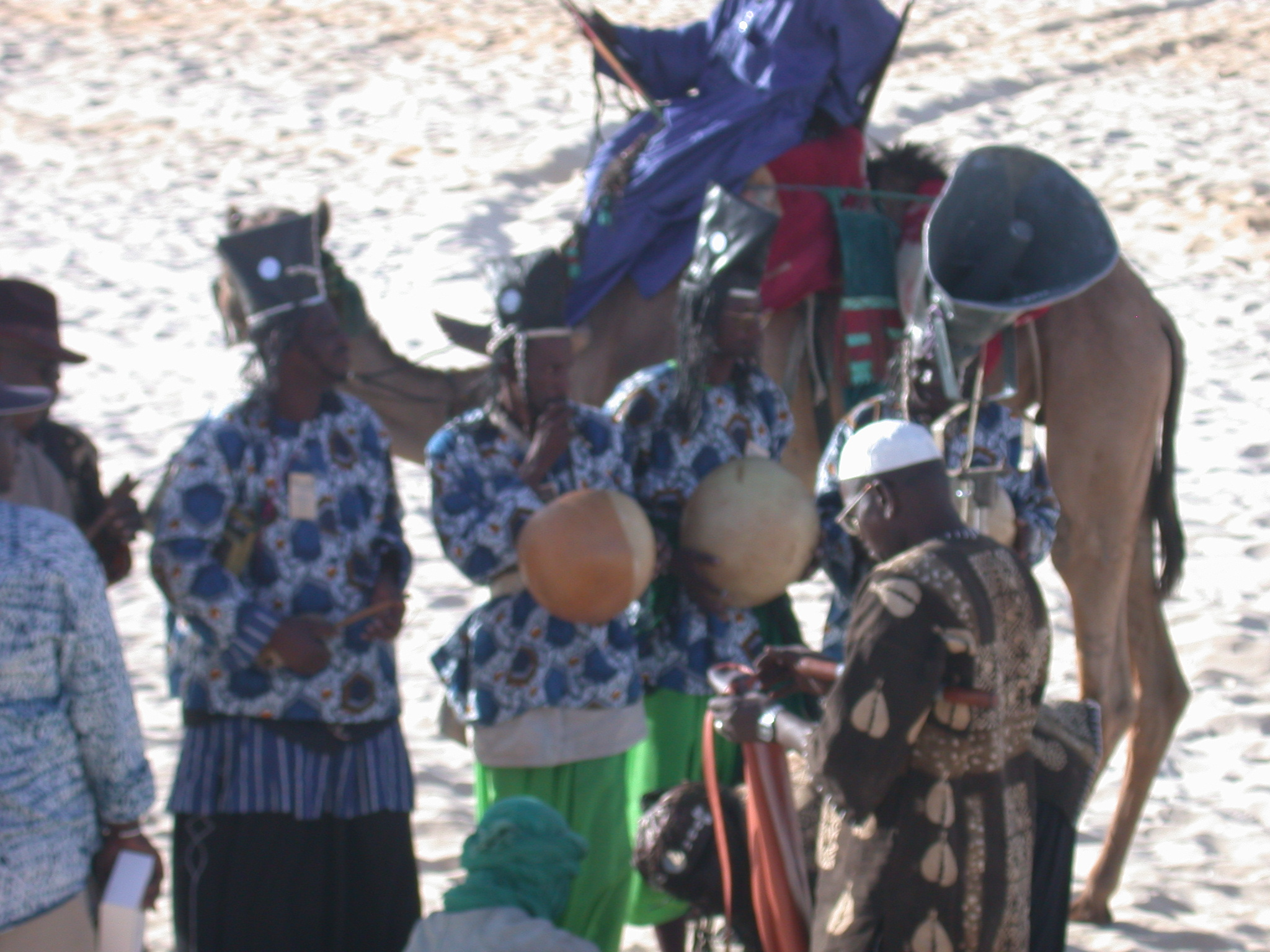Local Mali Musicians, Festival in the Desert, Essakane, Mali