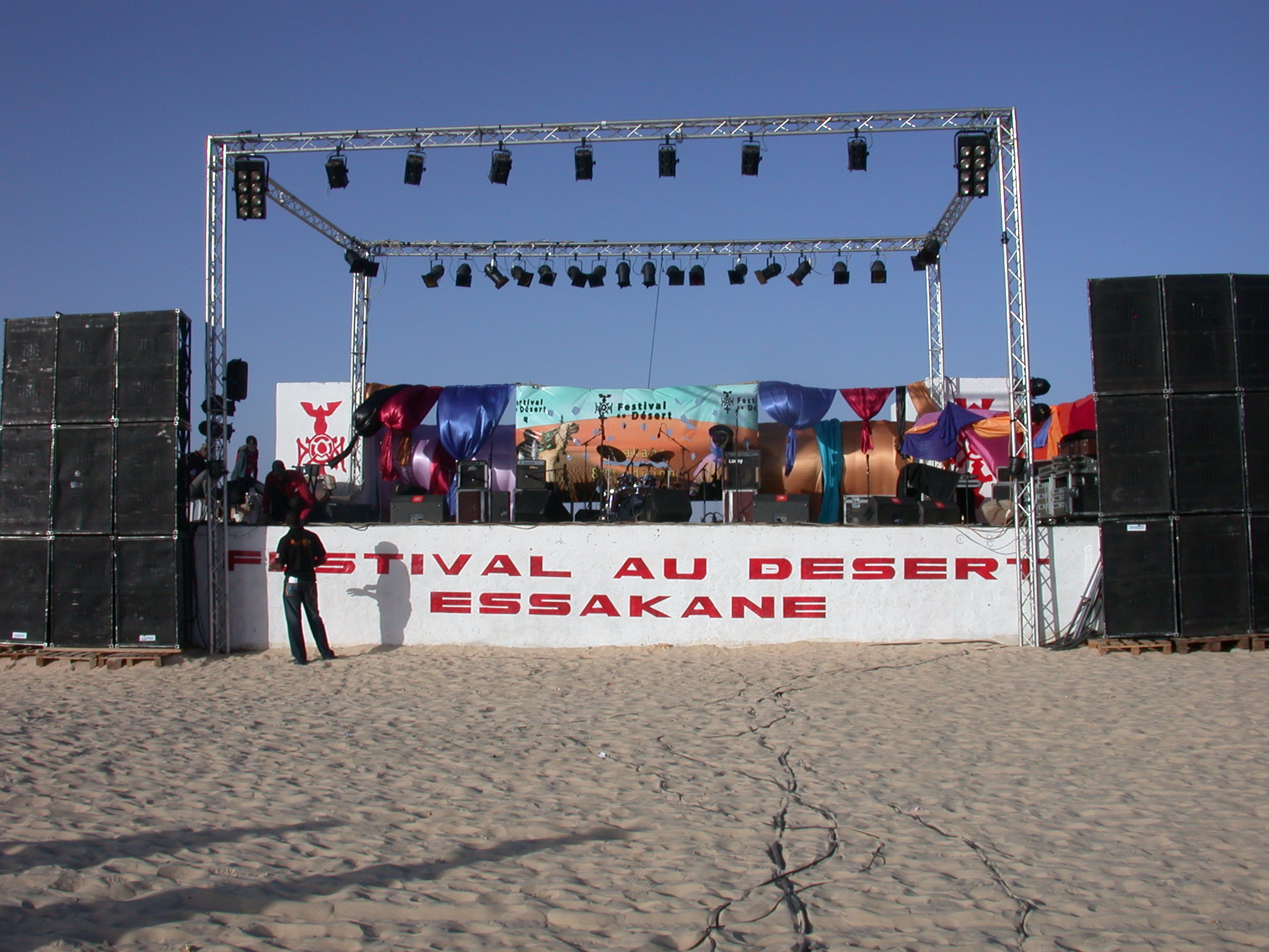 Stage, Festival in the Desert, Essakane, Mali