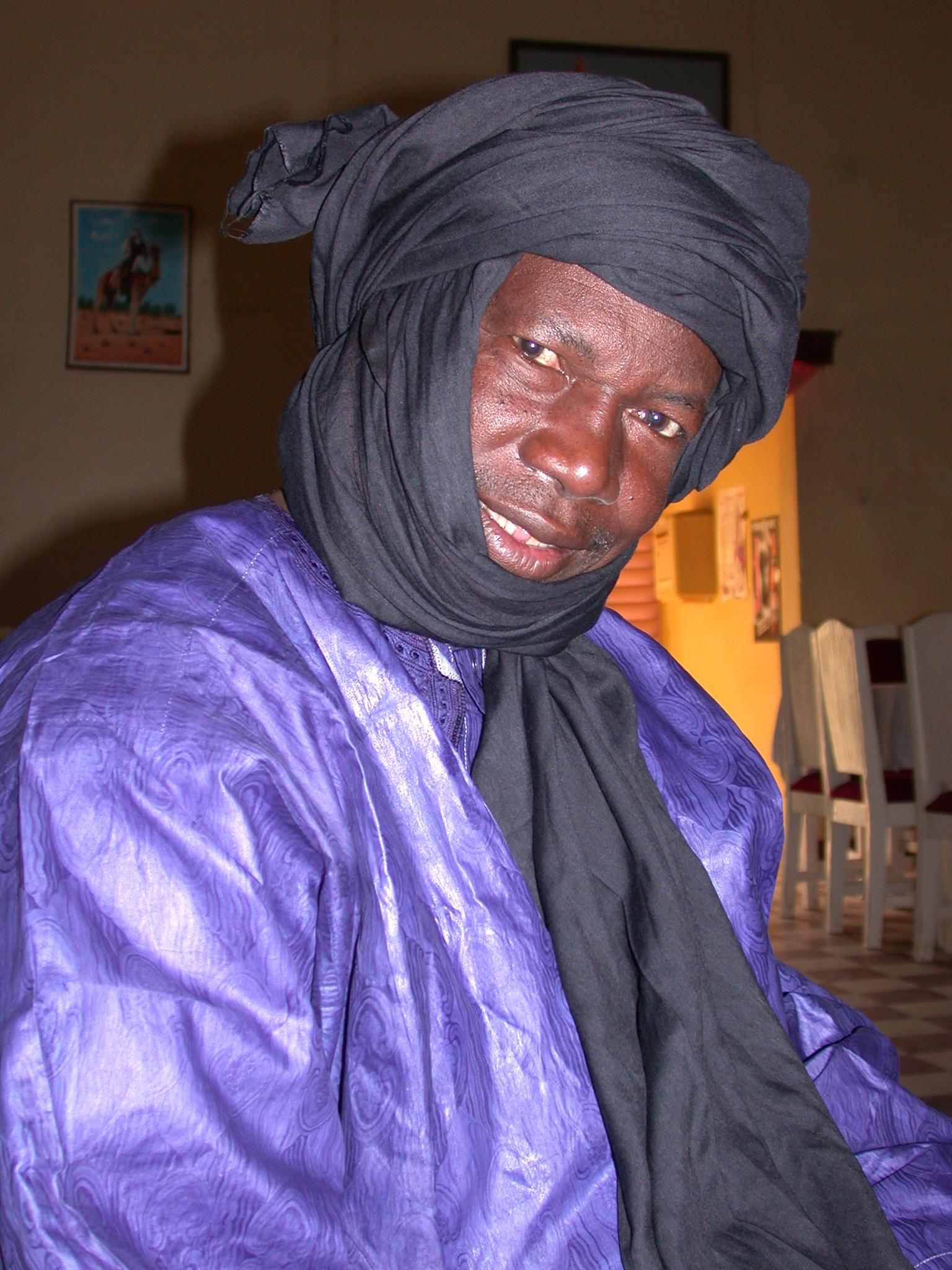 Boubakar Touré, Owner of Hotel Boctou, Timbuktu, Mali