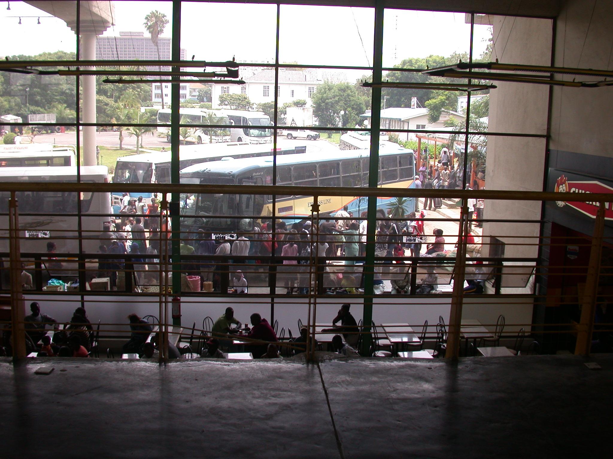 Bus Terminal, Harare, Zimbabwe