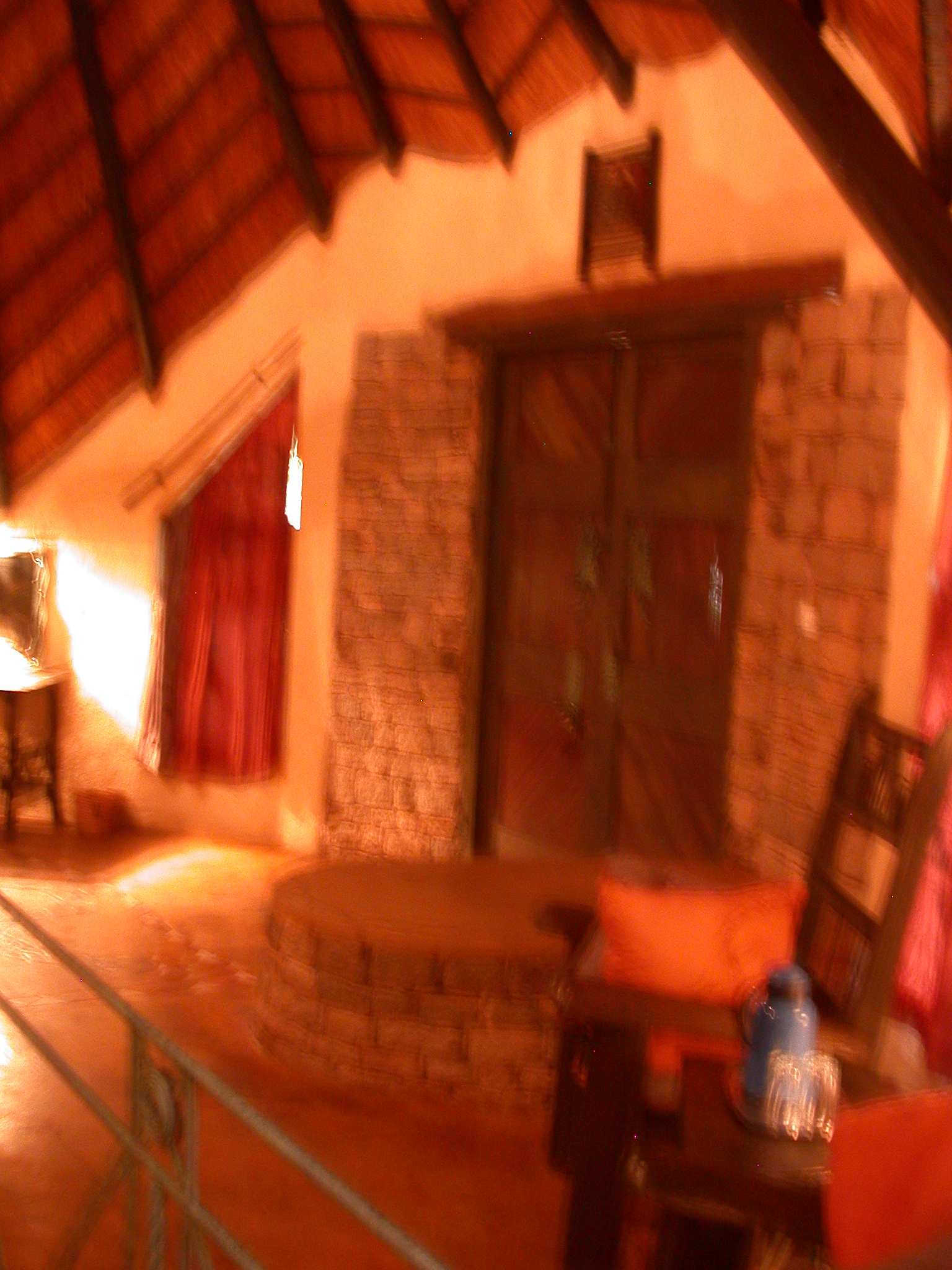 Front Entrance of My Suite at the Ancient City Lodge, Great Zimbabwe, Outside Masvingo, Zimbabwe