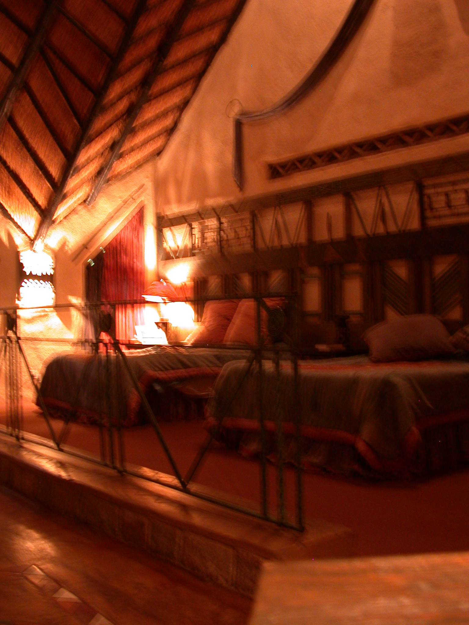 Bedroom of My Suite at the Ancient City Lodge, Great Zimbabwe, Outside Masvingo, Zimbabwe