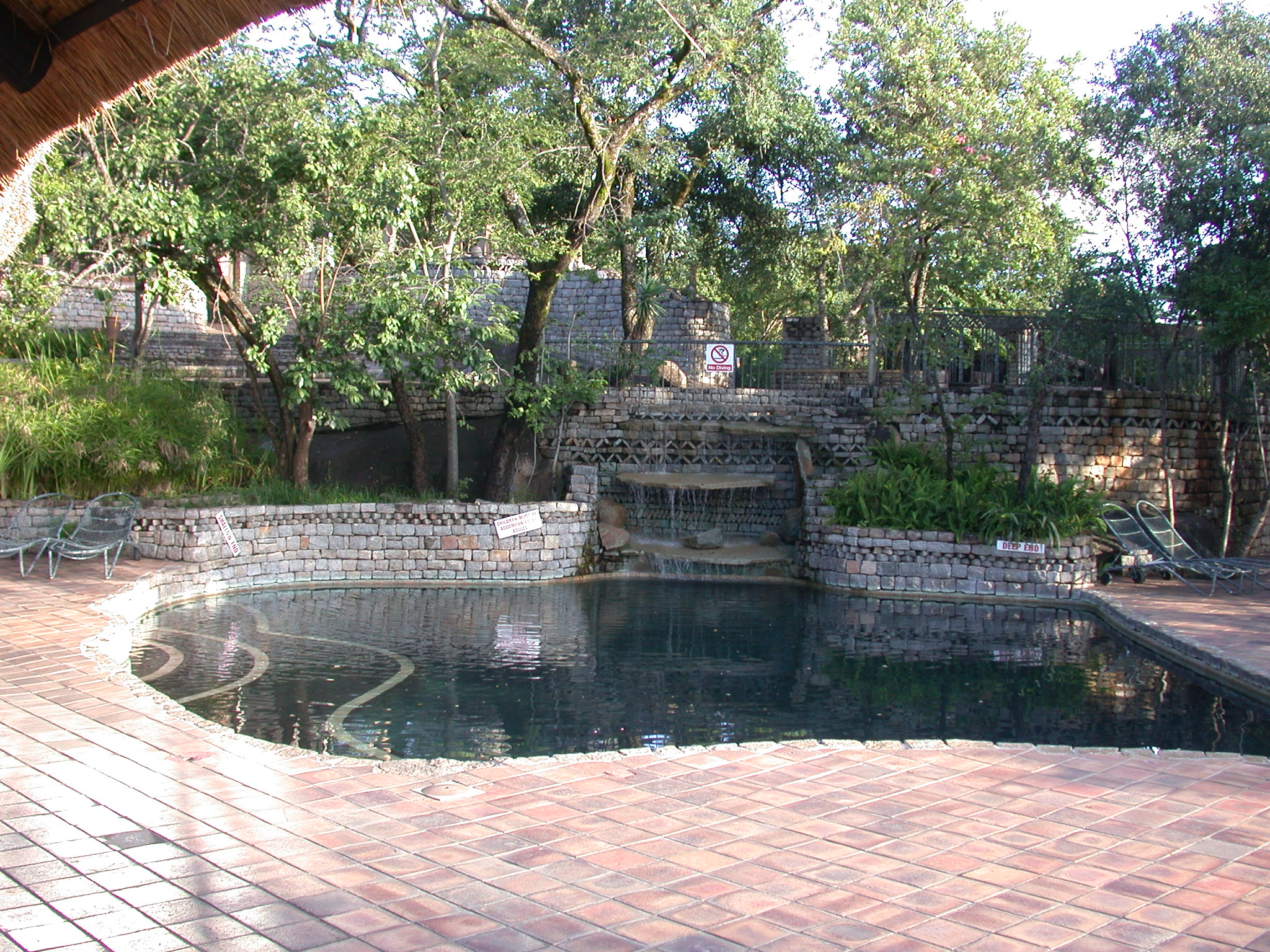 Swimming Pool at the Ancient City Lodge, Great Zimbabwe, Outside Masvingo, Zimbabwe