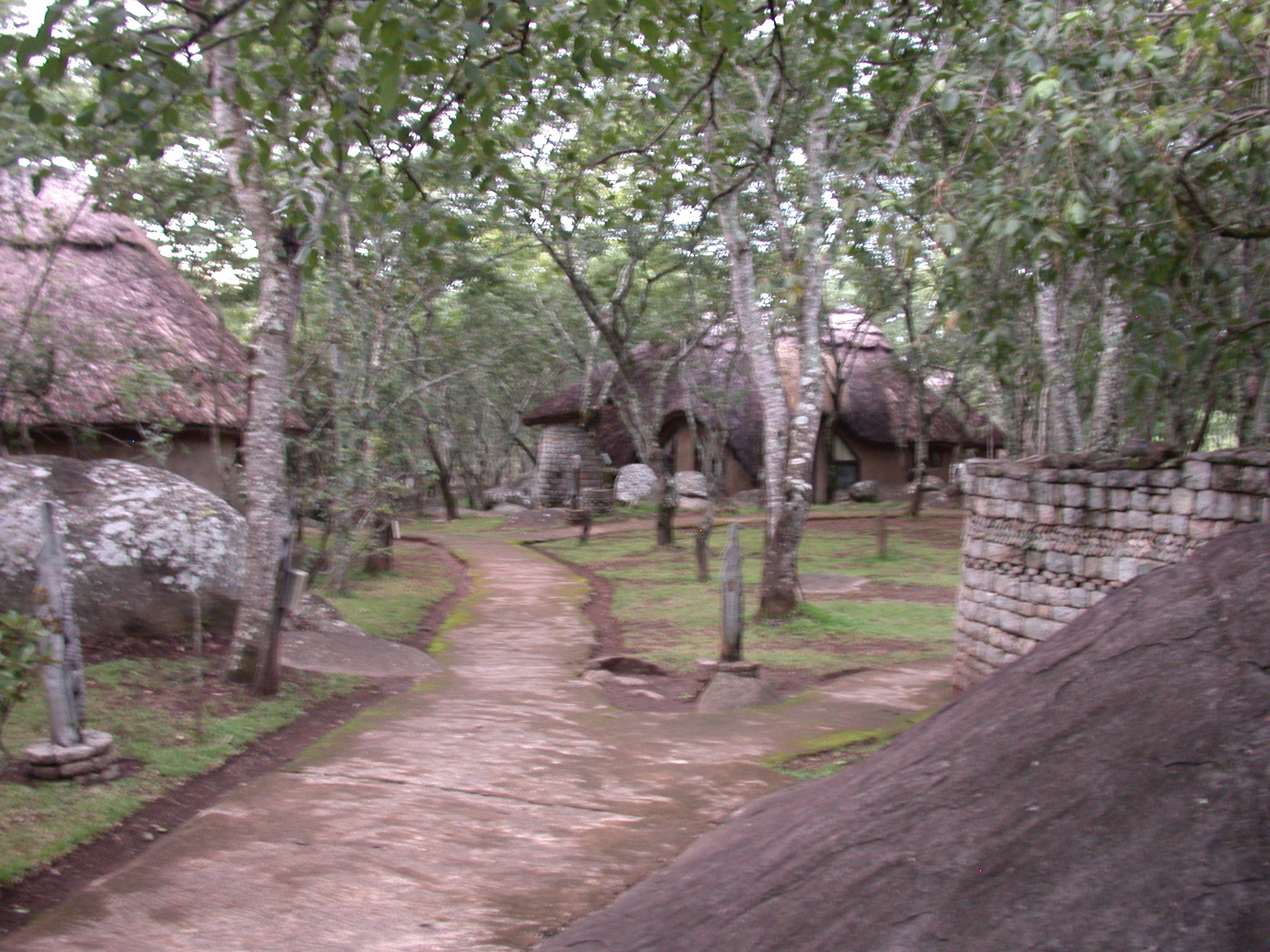 Grounds of the Ancient City Lodge, Great Zimbabwe, Outside Masvingo, Zimbabwe