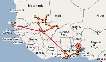 Porto Novo, Benin