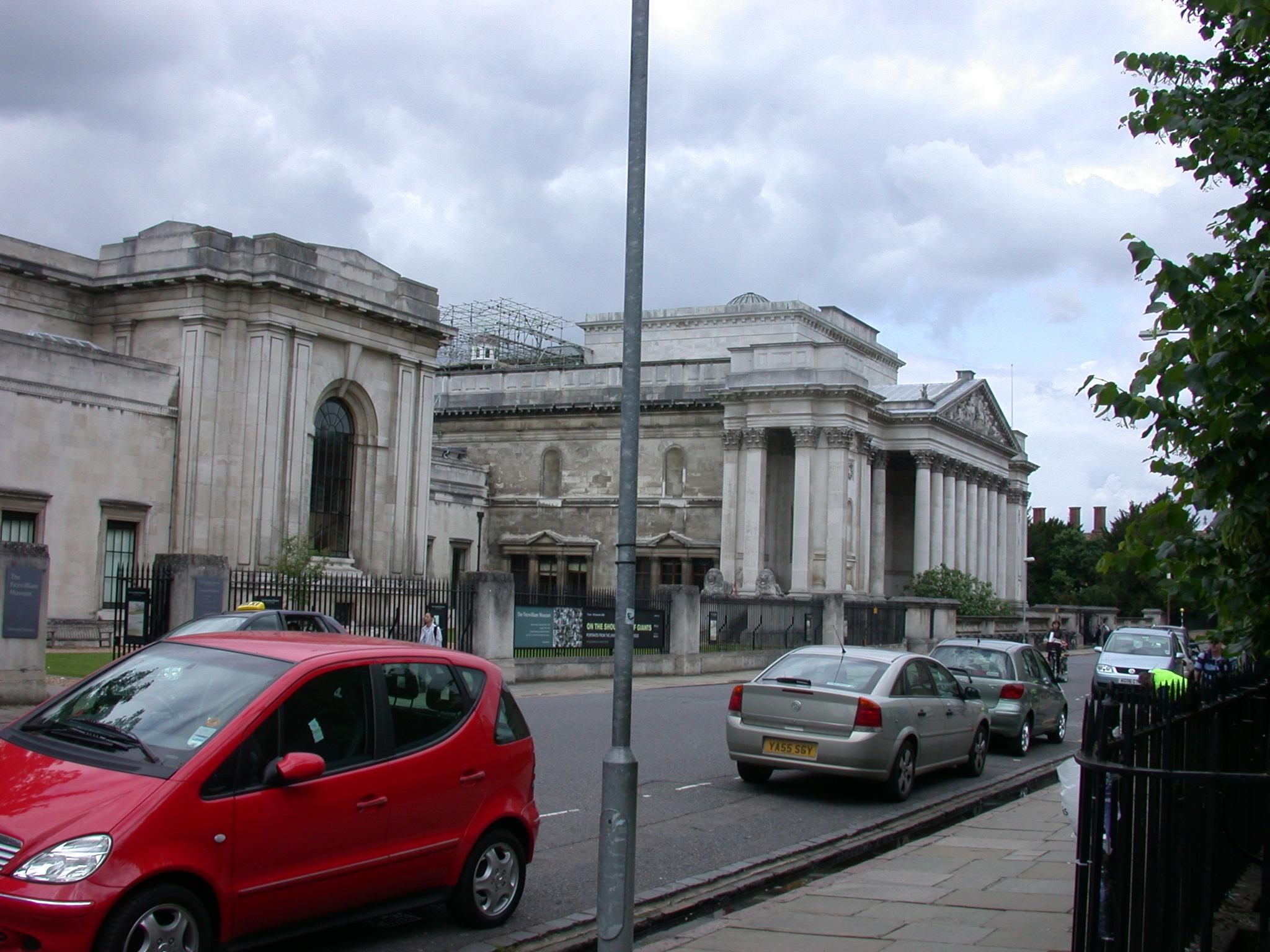 Fitzwilliam Museum, Cambridge, England