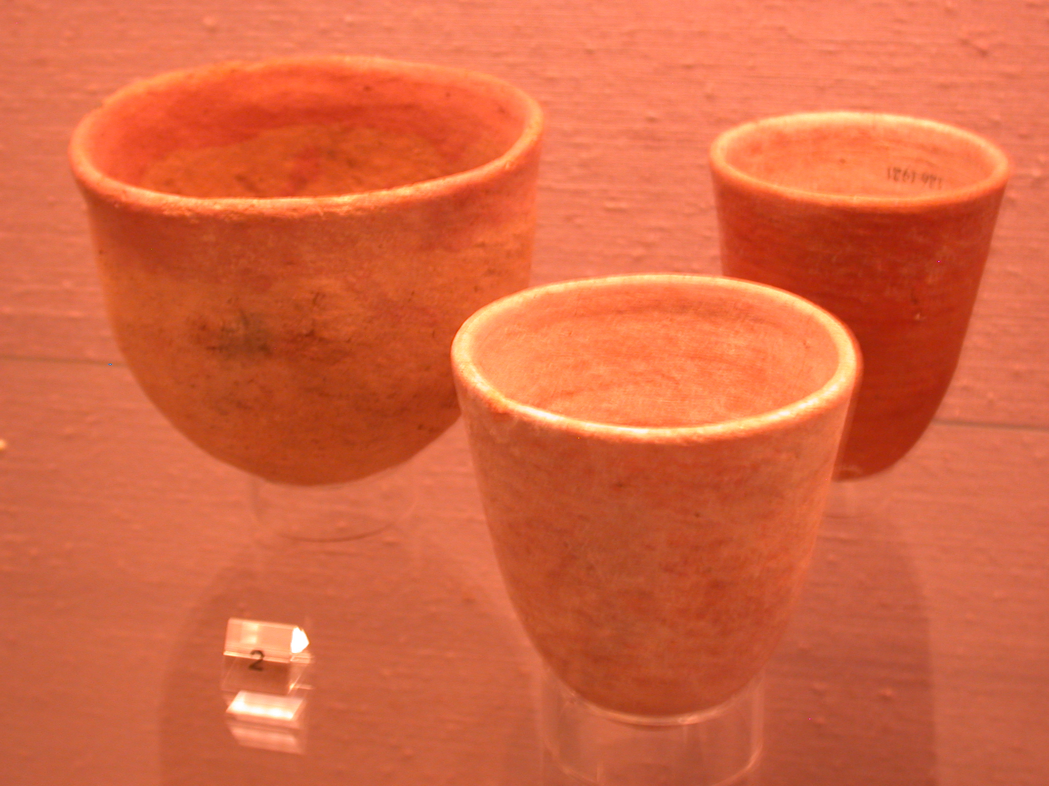 Pottery Vessels, Sanam, 25th Dynasty Sudan, Fitzwilliam Museum, Cambridge, England