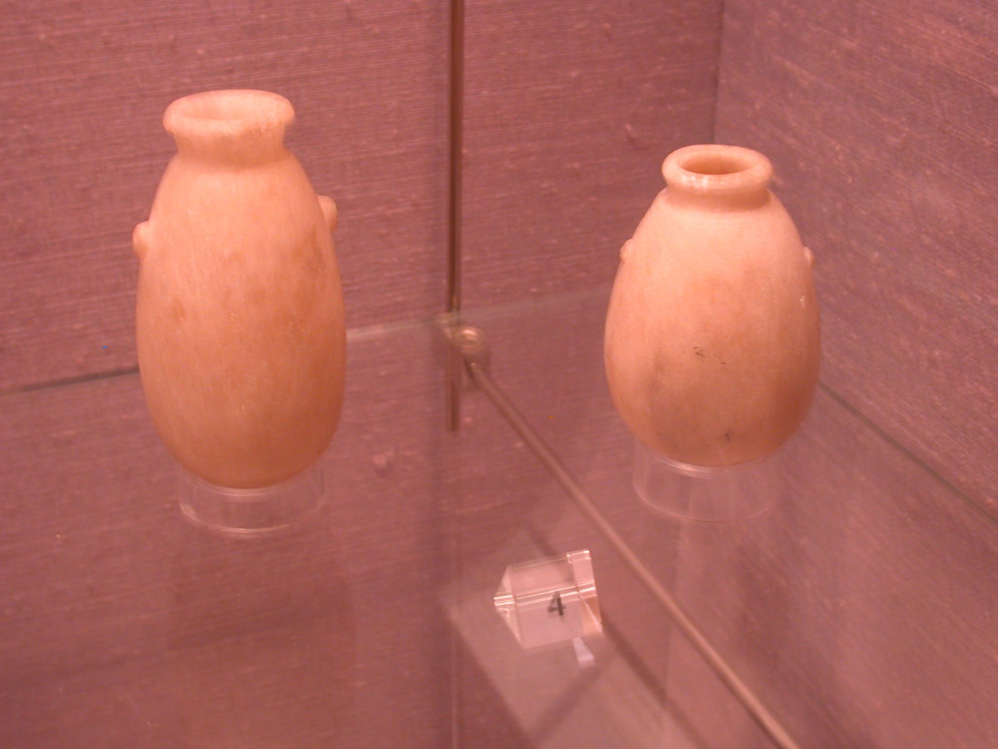 Alabaster Vessels, Sanam, 25th Dynasty Sudan, Fitzwilliam Museum, Cambridge, England