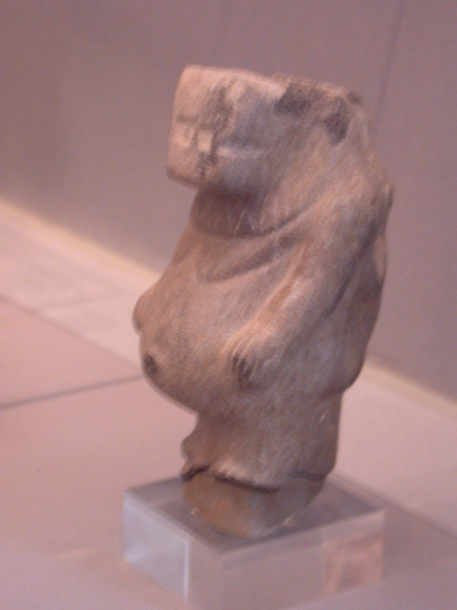 Tawaret Figure, Goddess Protecting Women During Childbirth, Diorite, Late Period, 746-336 BCE, Egypt, in Fitzwilliam Museum, Cambridge, England