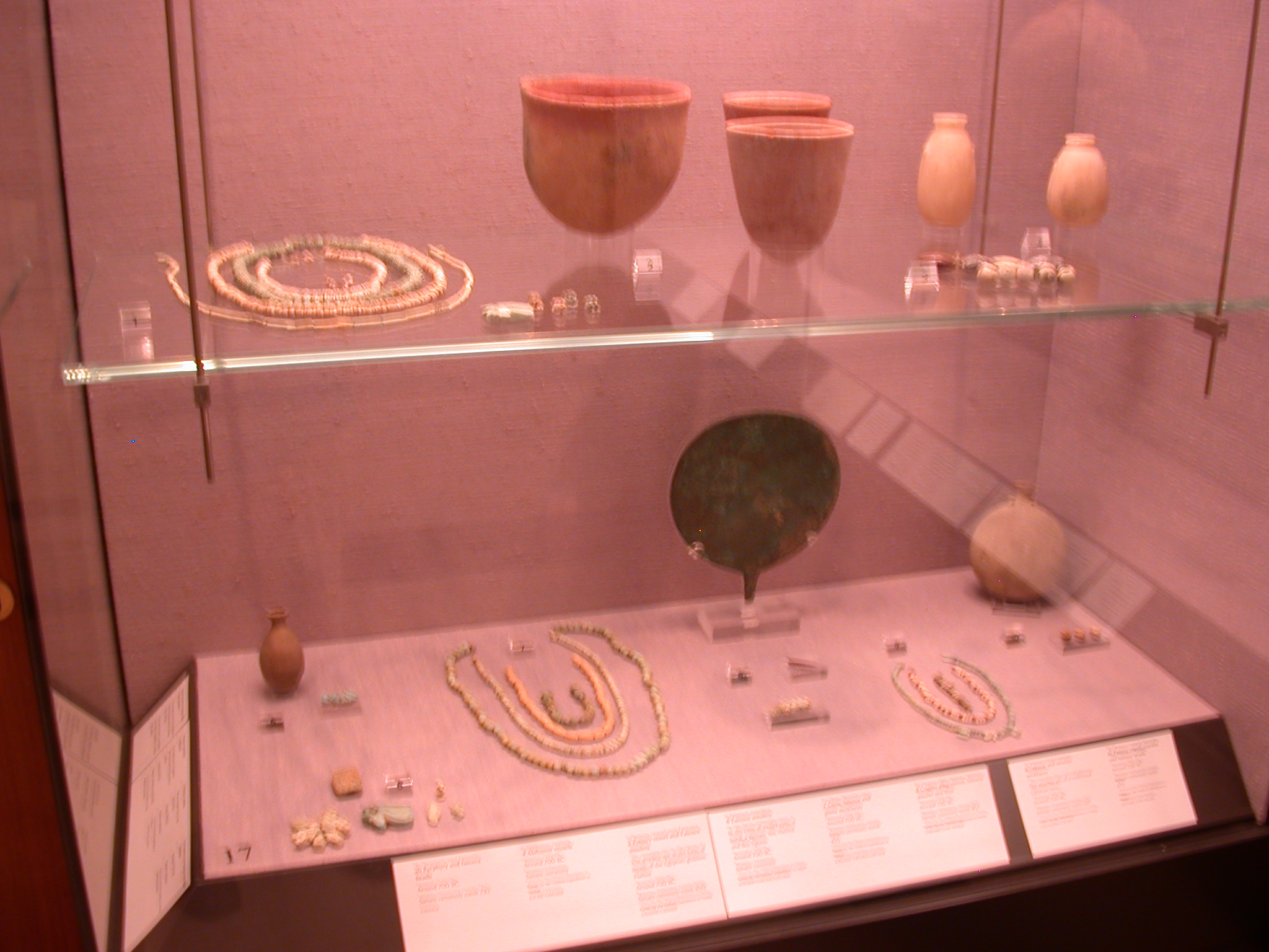 Cemetery Objects, Napatan Period, 700-300 BCE, Sanam Abu Dom, in Fitzwilliam Museum, Cambridge, England