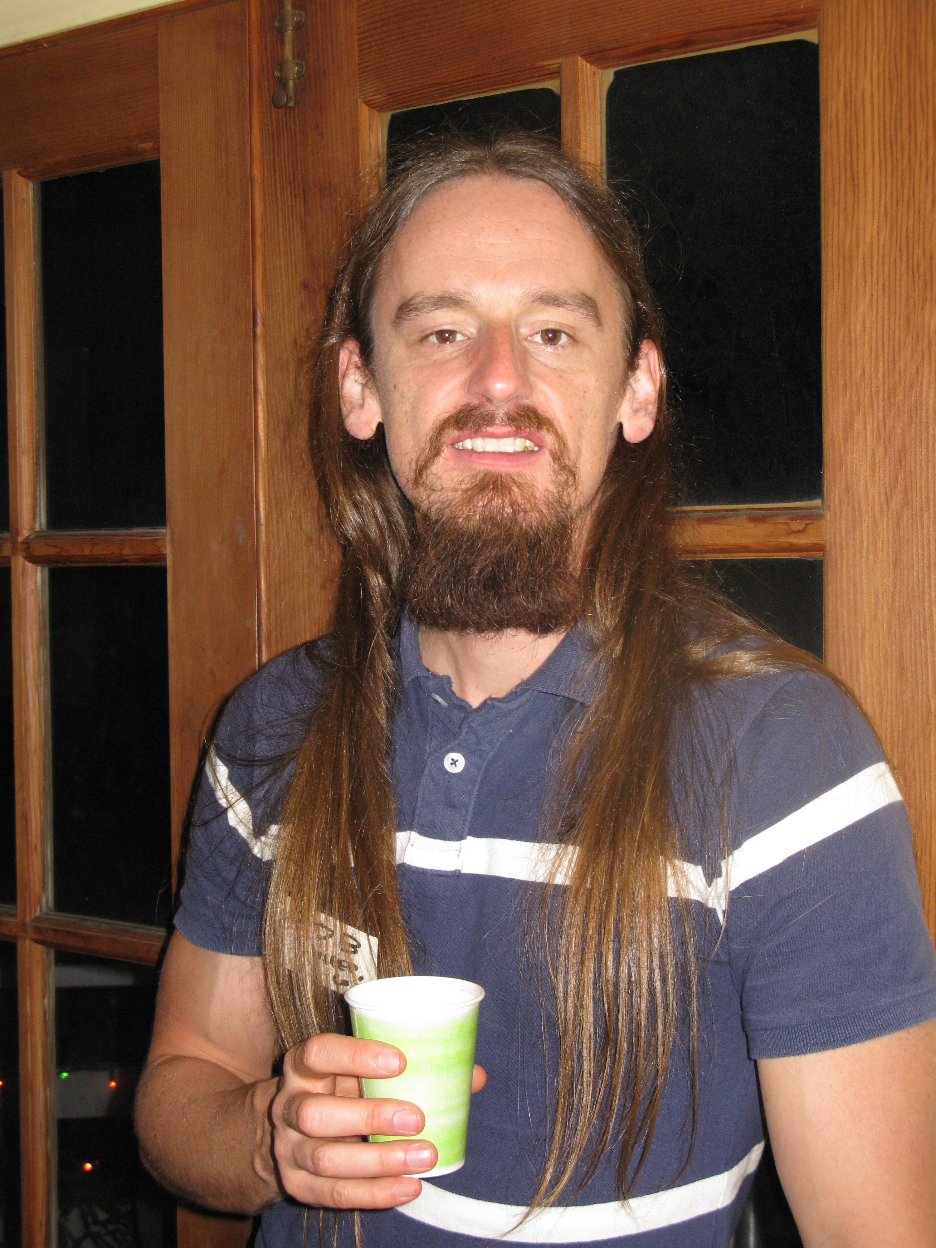 Rob With New Beard