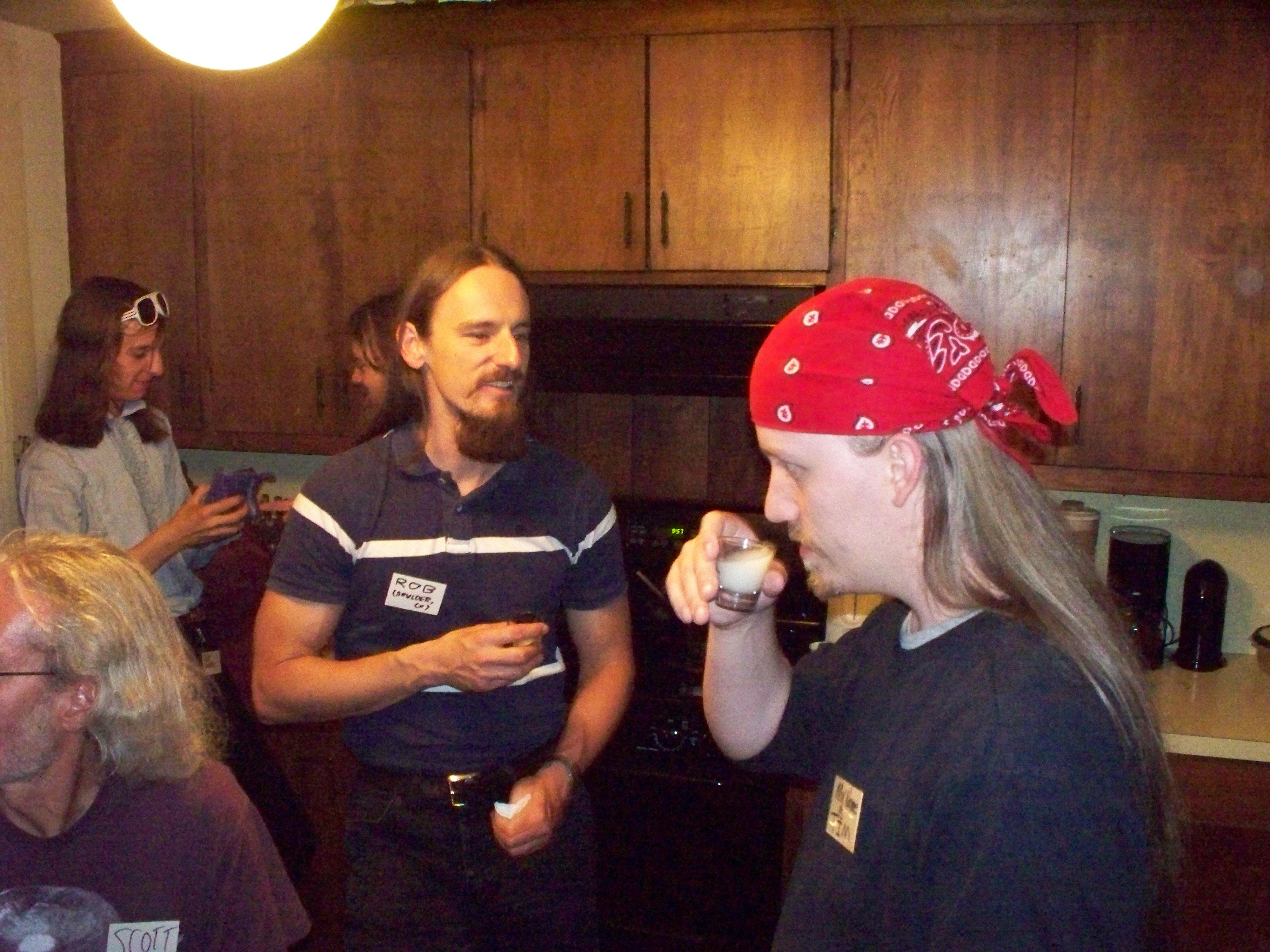 Scott Sacrilege Stardust Rob and Tim in the Kitchen